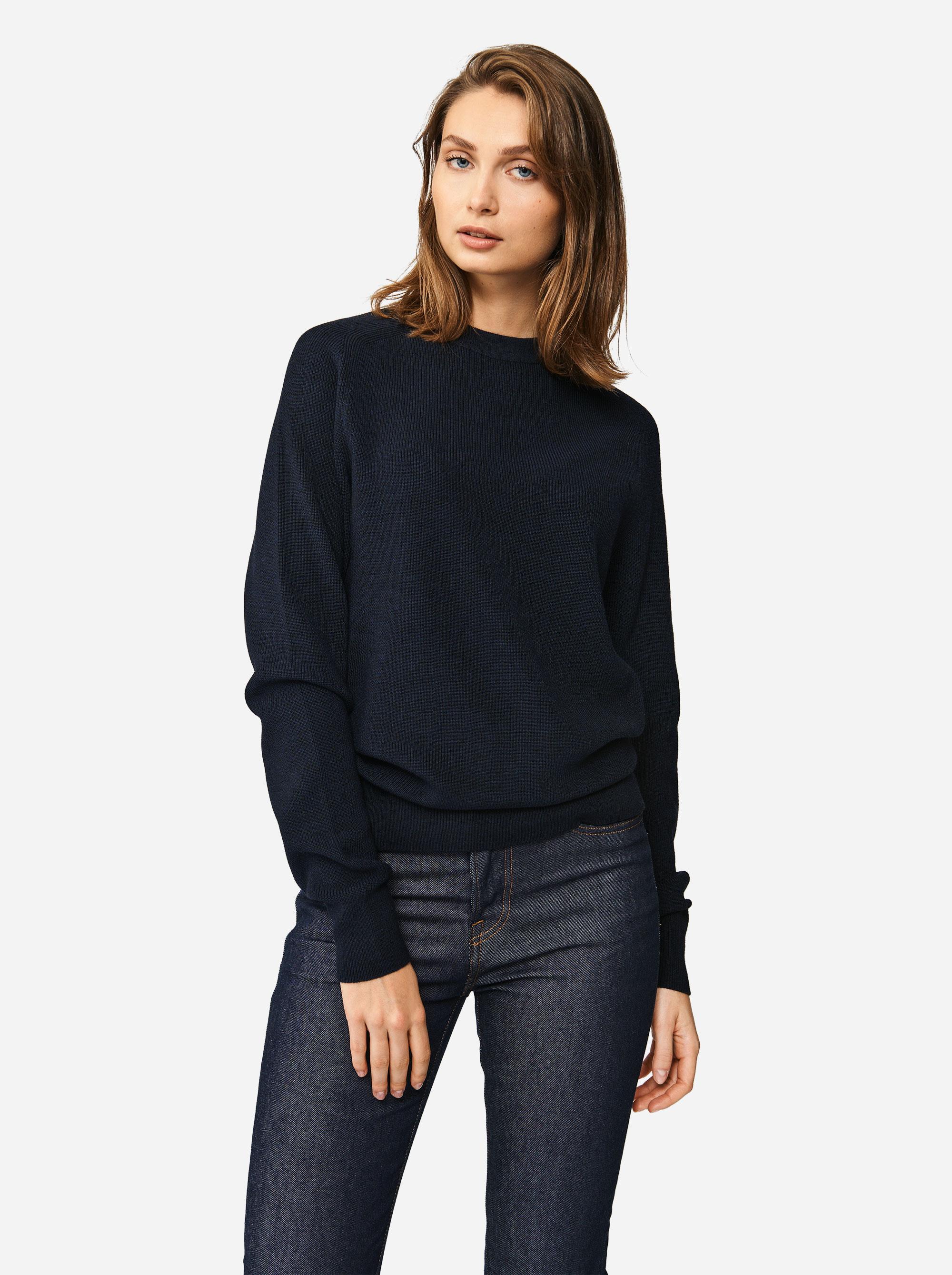 Teym - Crewneck - The Merino Sweater - Women - Blue - 2