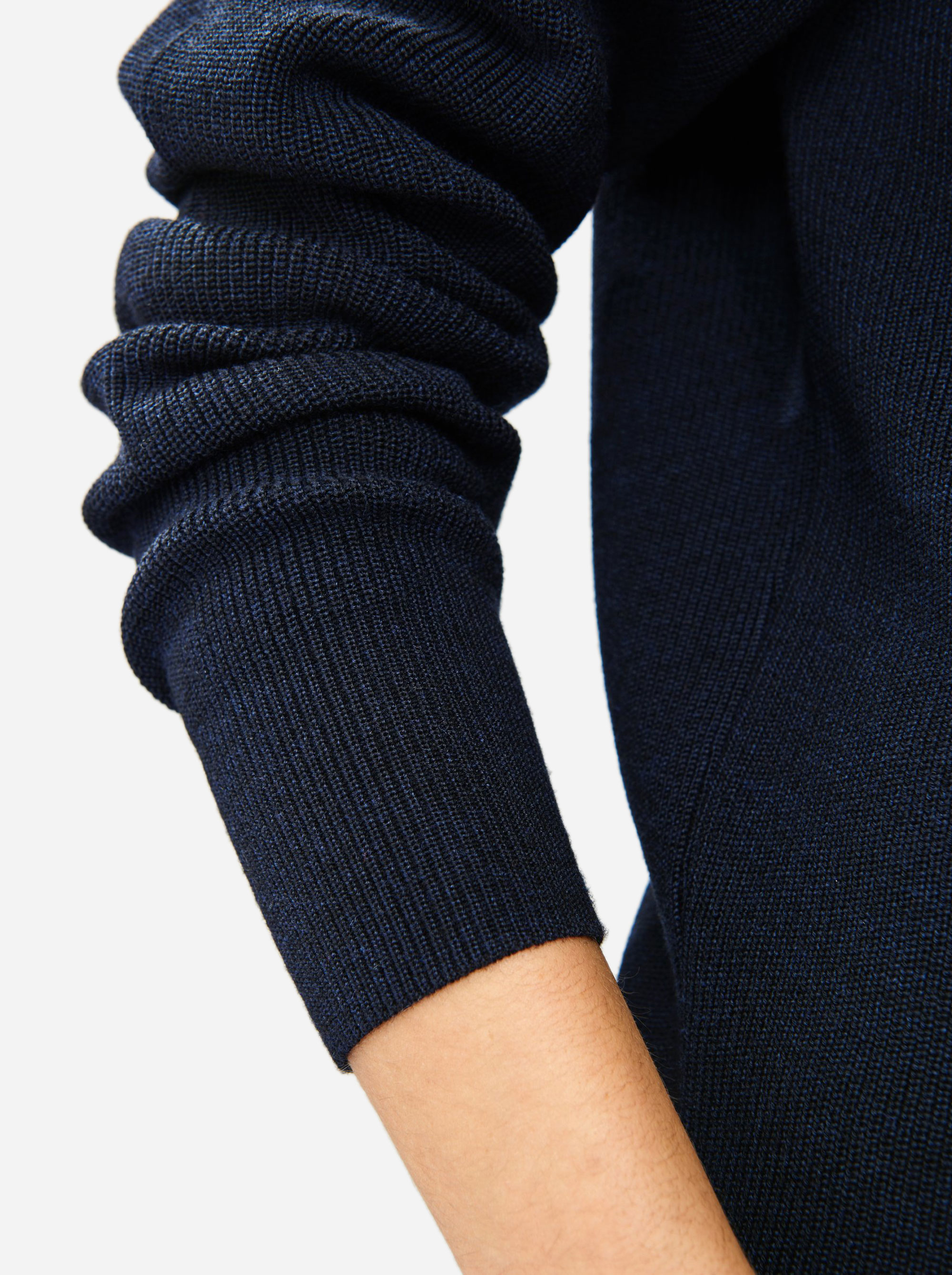 Teym - Crewneck - The Merino Sweater - Women - Blue - 3