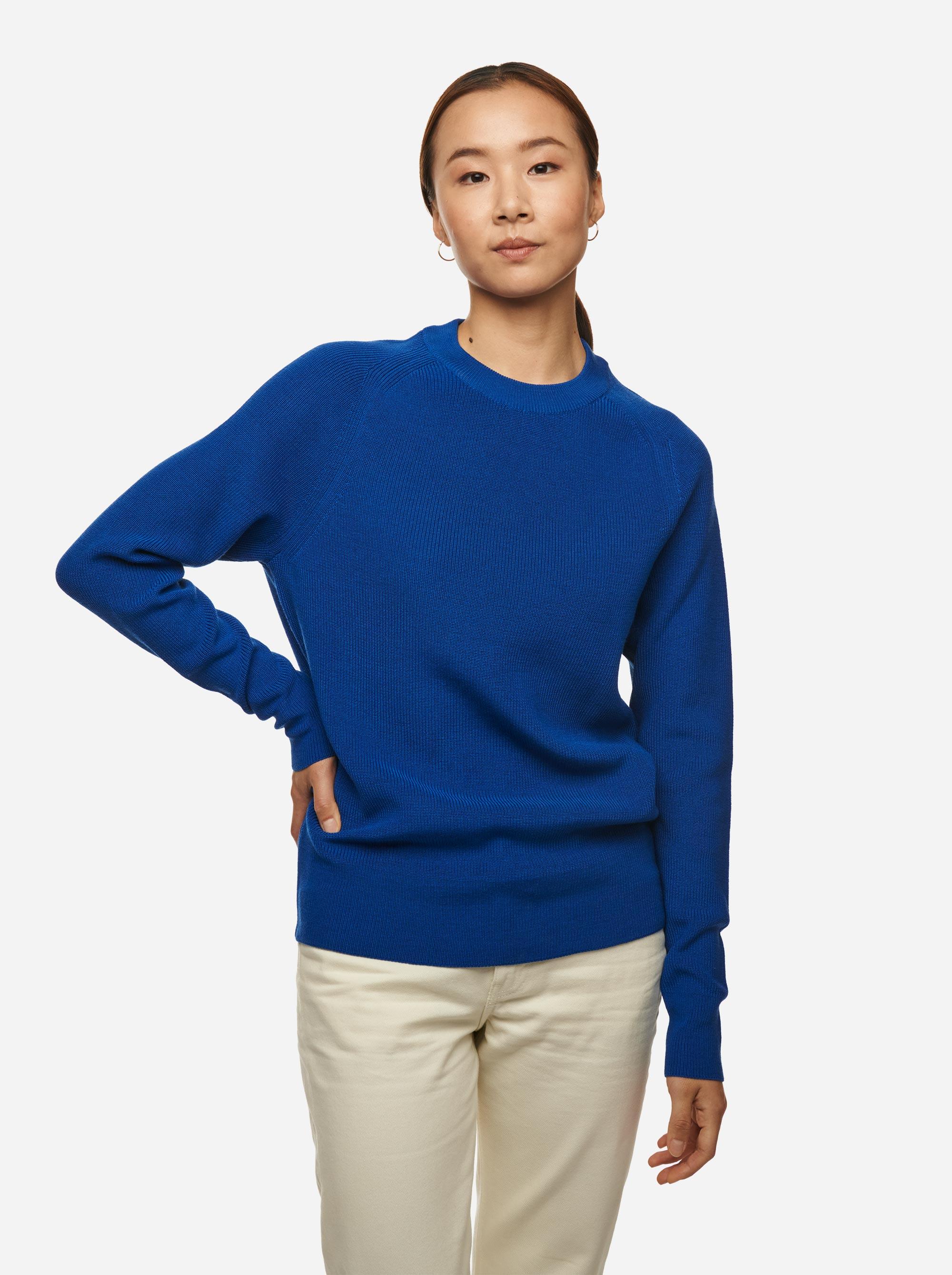 Teym - Crewneck - The Merino Sweater - Women - Cobalt Blue - 1