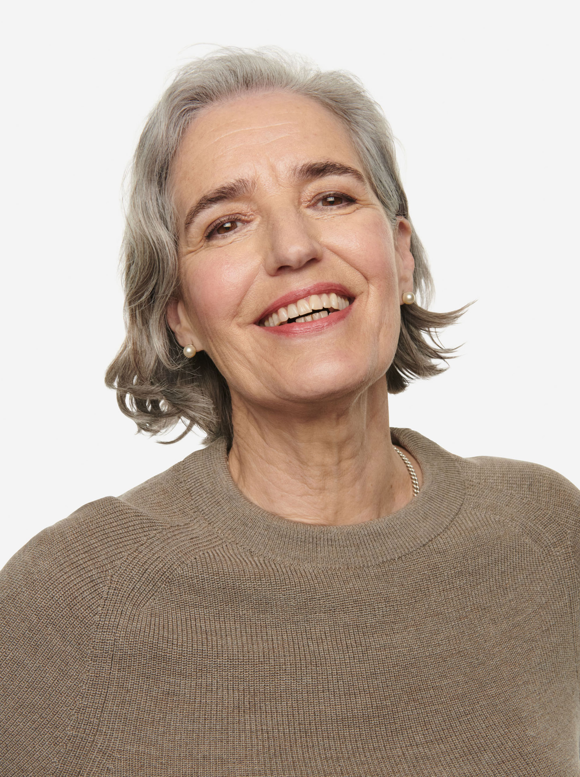Teym - Crewneck - The Merino Sweater - Women - Grey - 7