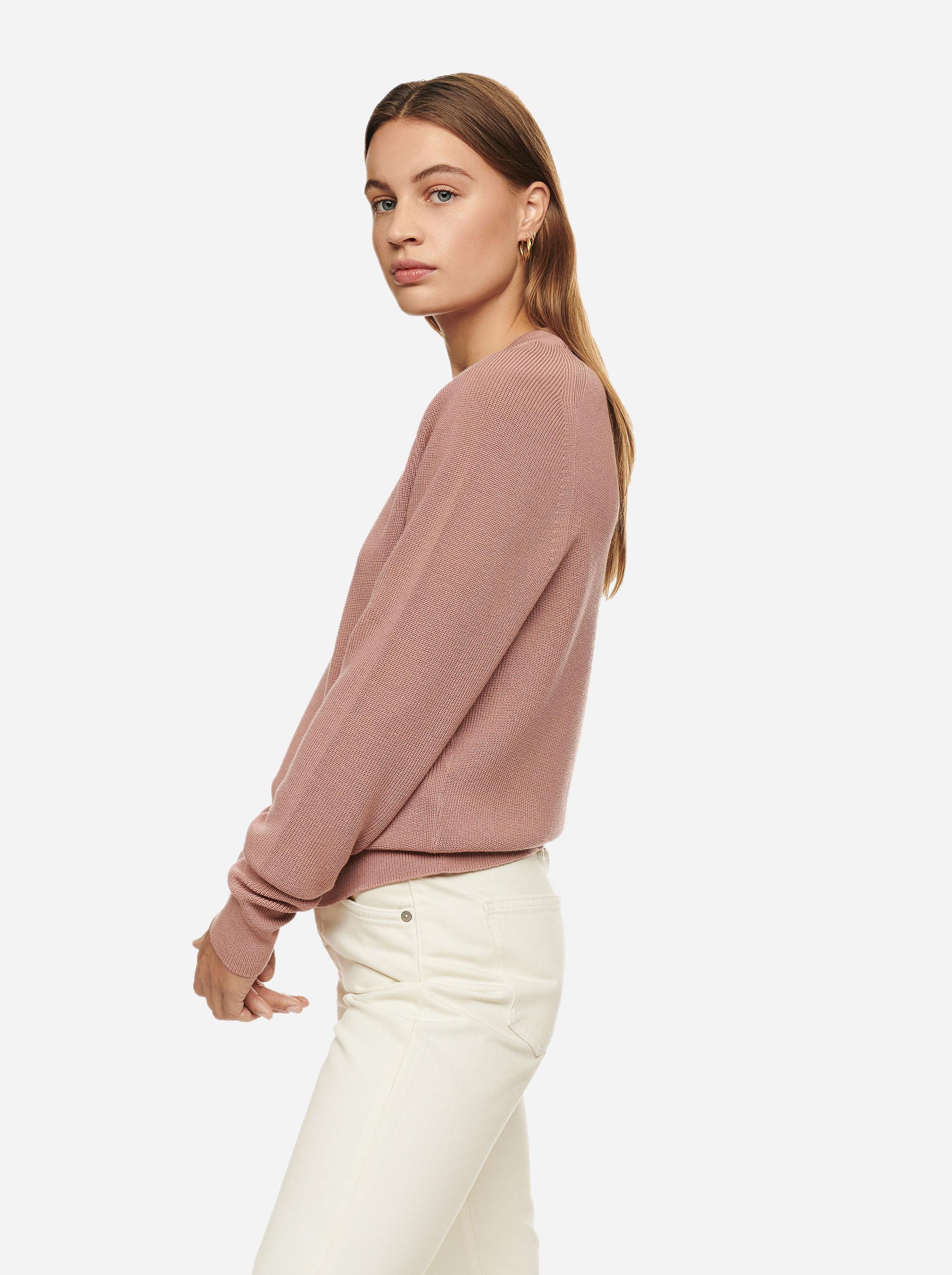 Teym - Crewneck - The Merino Sweater - Women - Pink - 2
