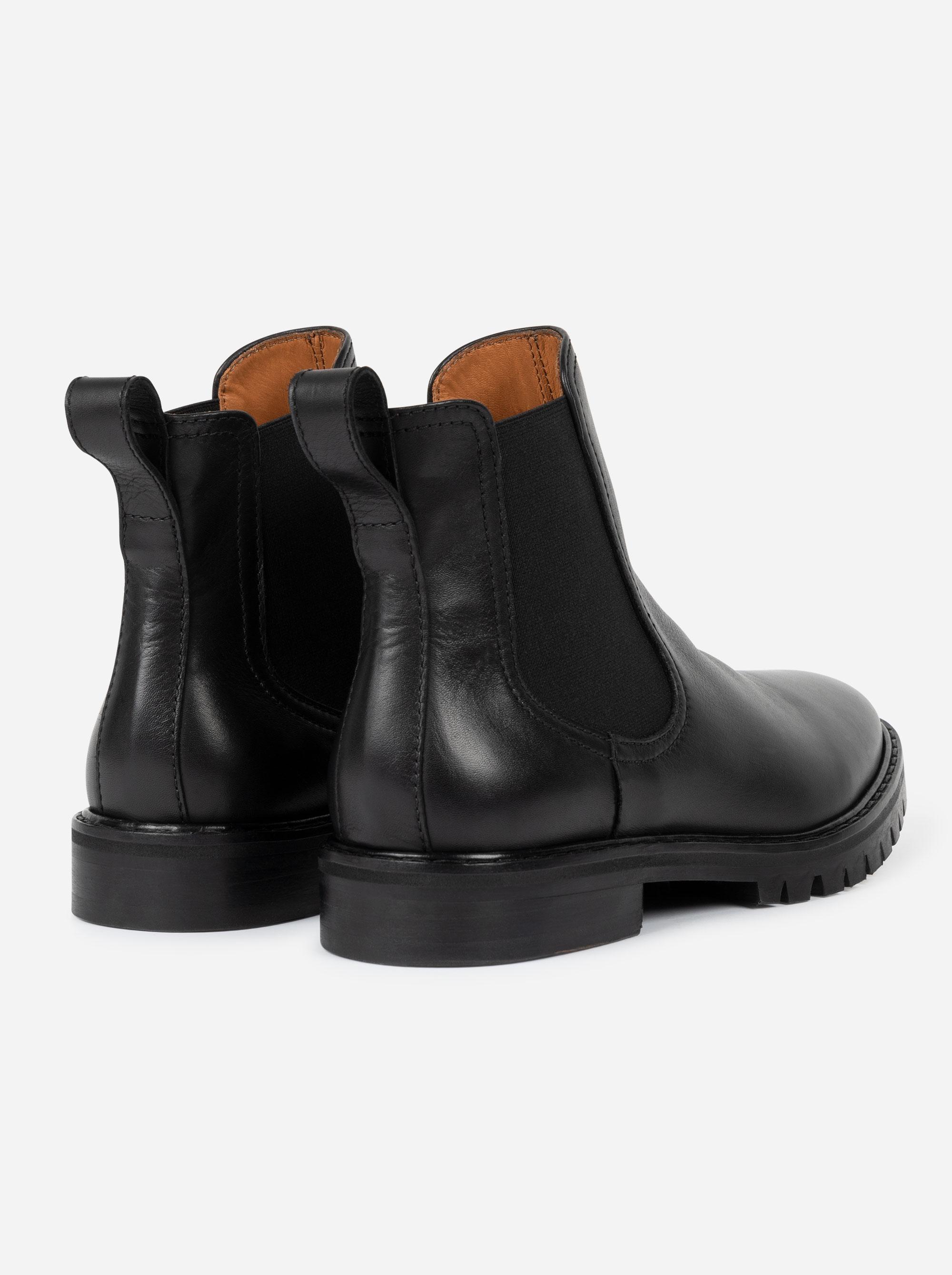 Teym - The Chelsea Boot - Black - 4