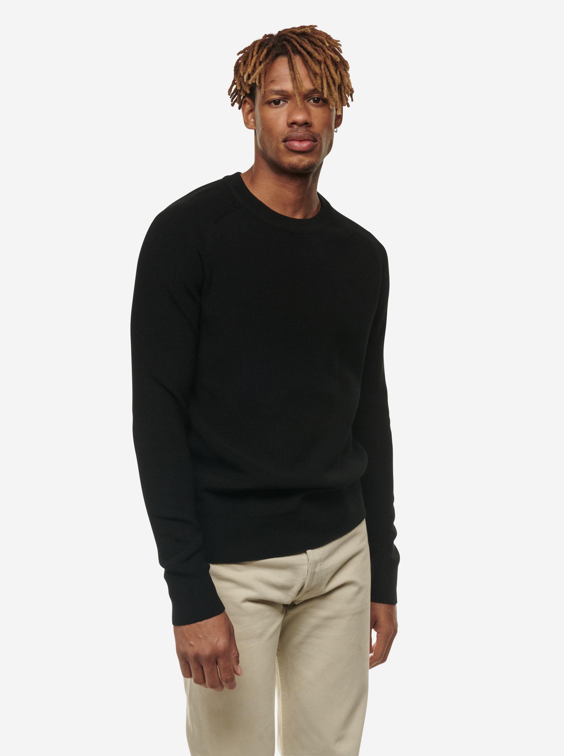 Teym - The Merino Sweater - Men - Black - 6