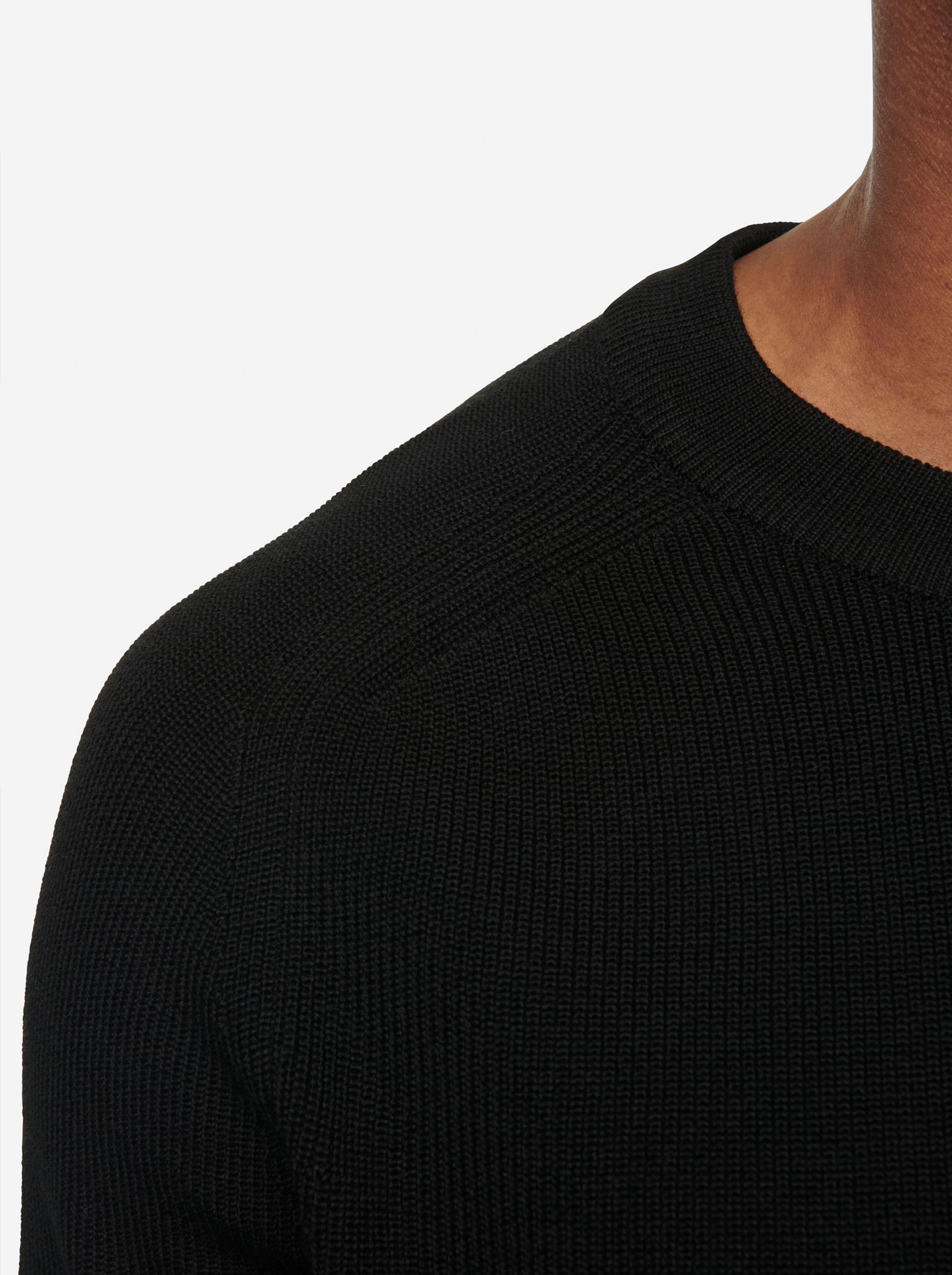 Teym - The Merino Sweater - Men - Black - 9