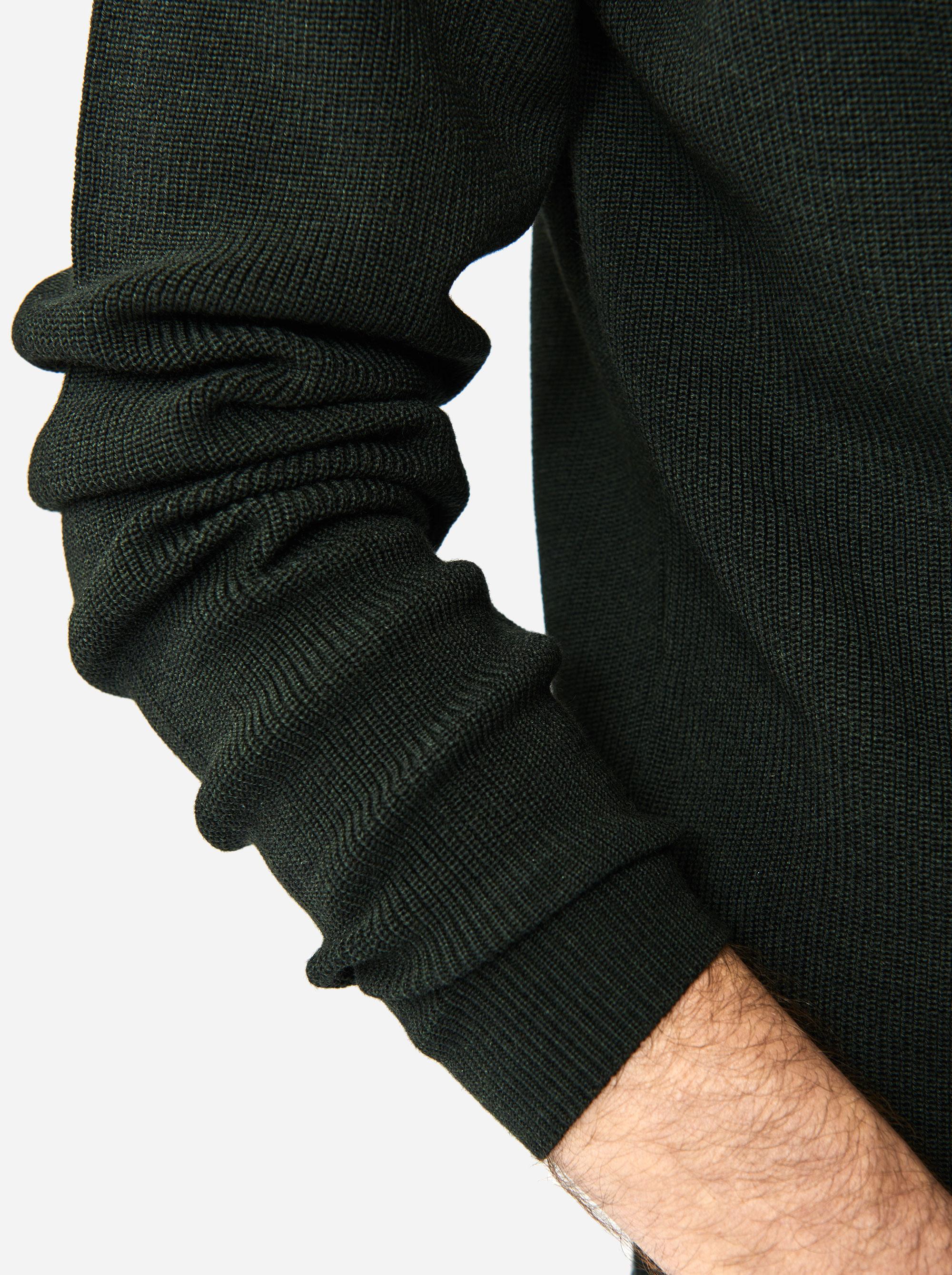 Teym - The Merino Sweater - Men - Green - 2