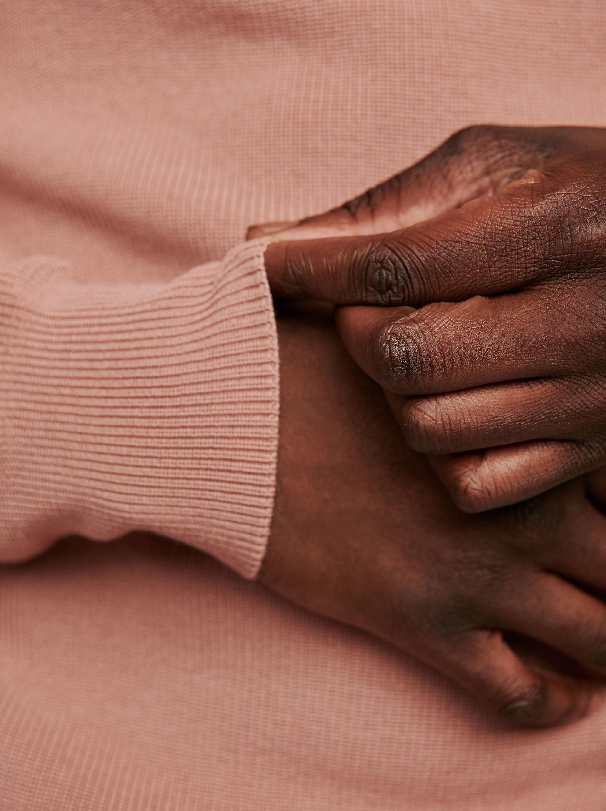 Teym - The Merino Sweater - Men - Pink - 4