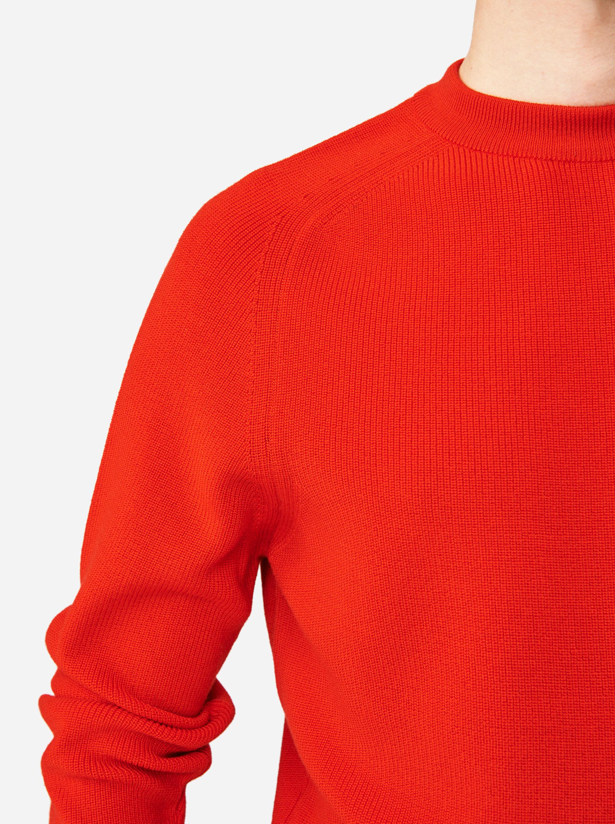 Teym - The Merino Sweater - Men - Red - 3