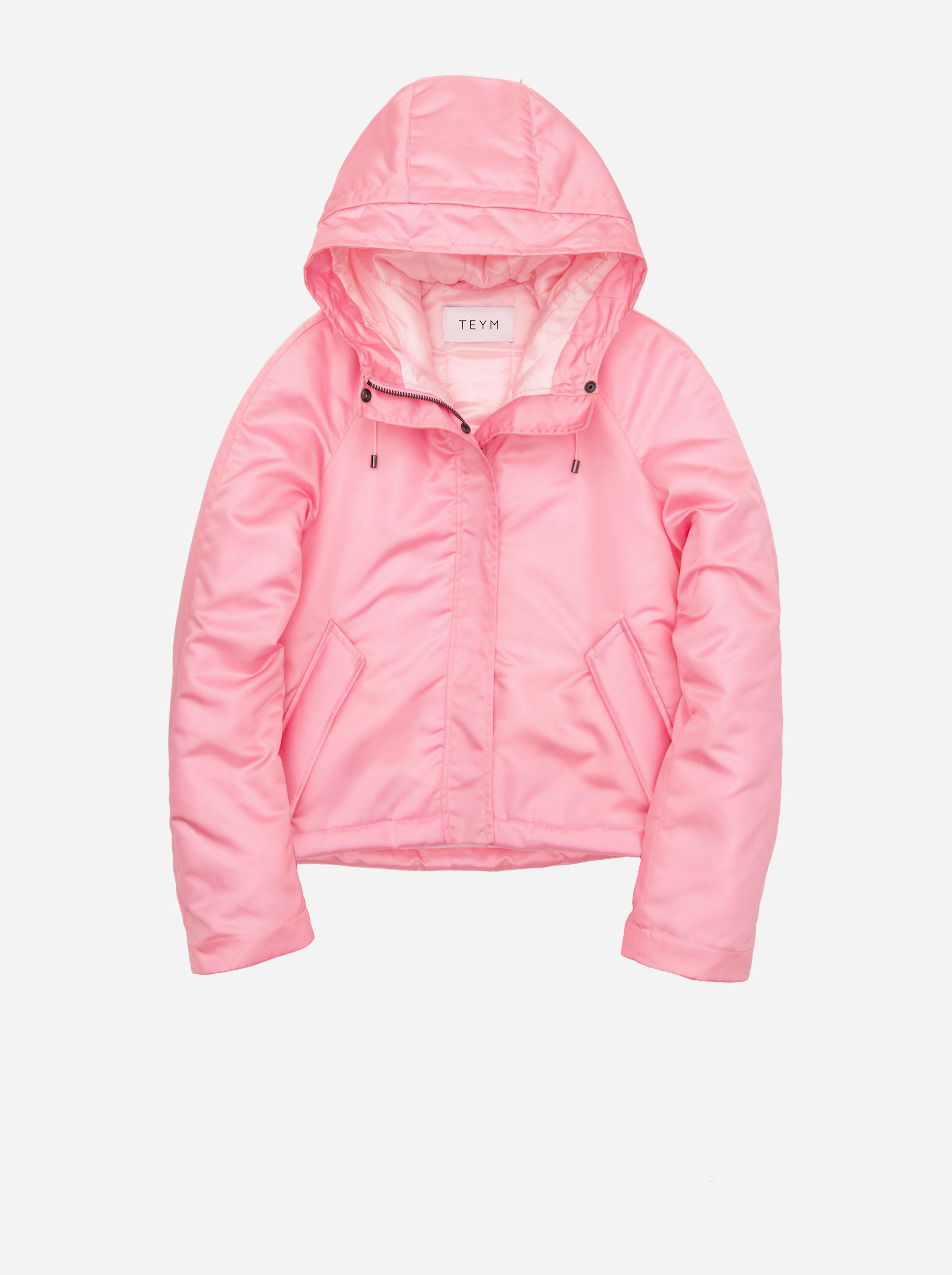 Teym - The Parka - Women - Pink - Short - 7