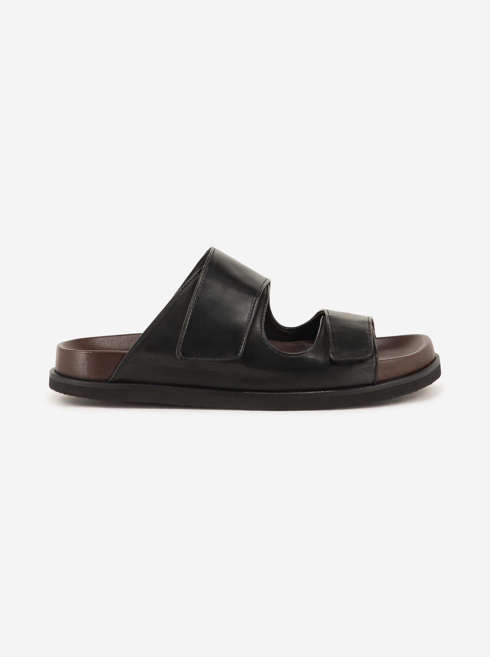 Teym - The Sandal - Black - 2b