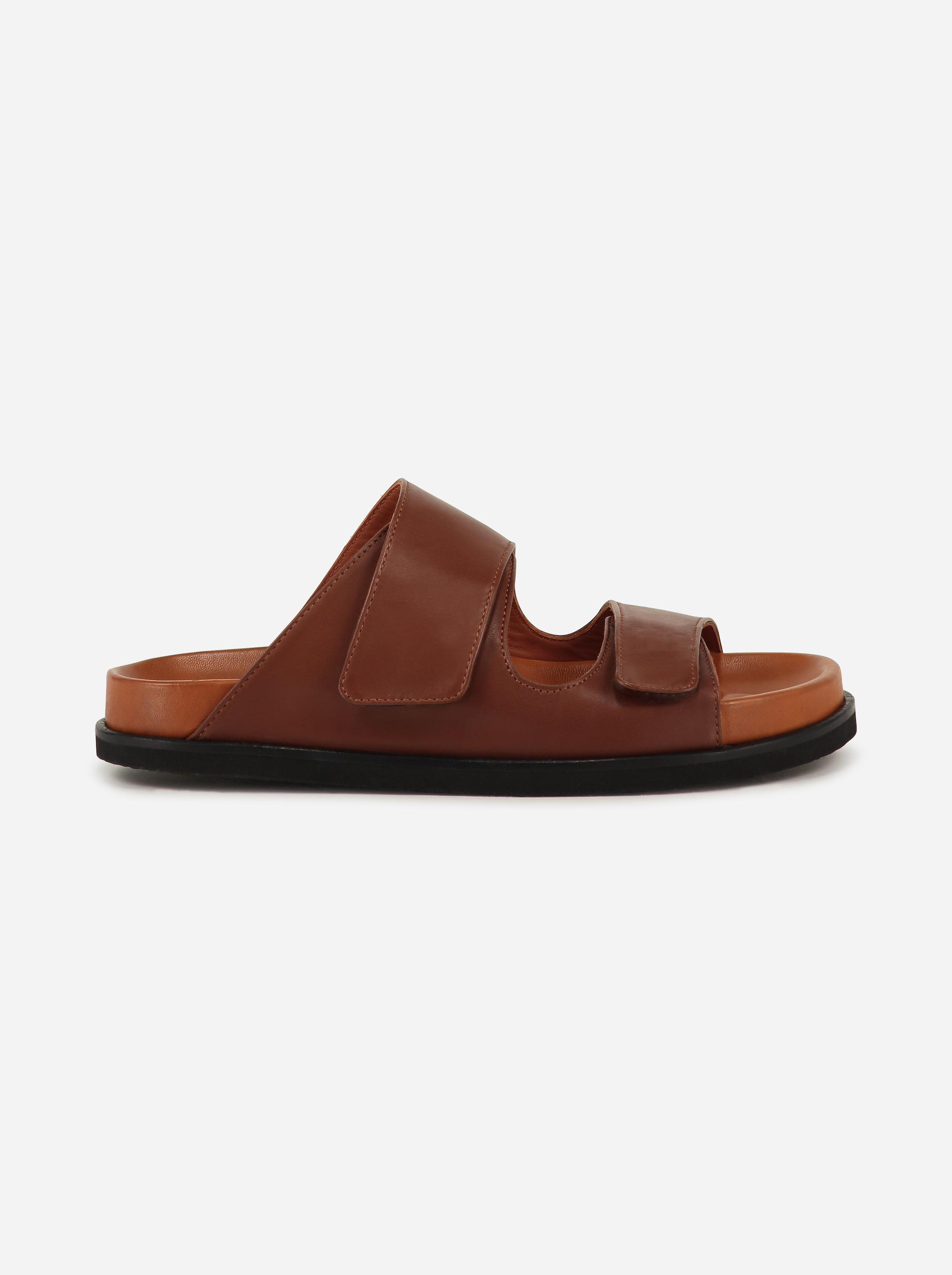 Teym - The Sandal - Brown - 4b