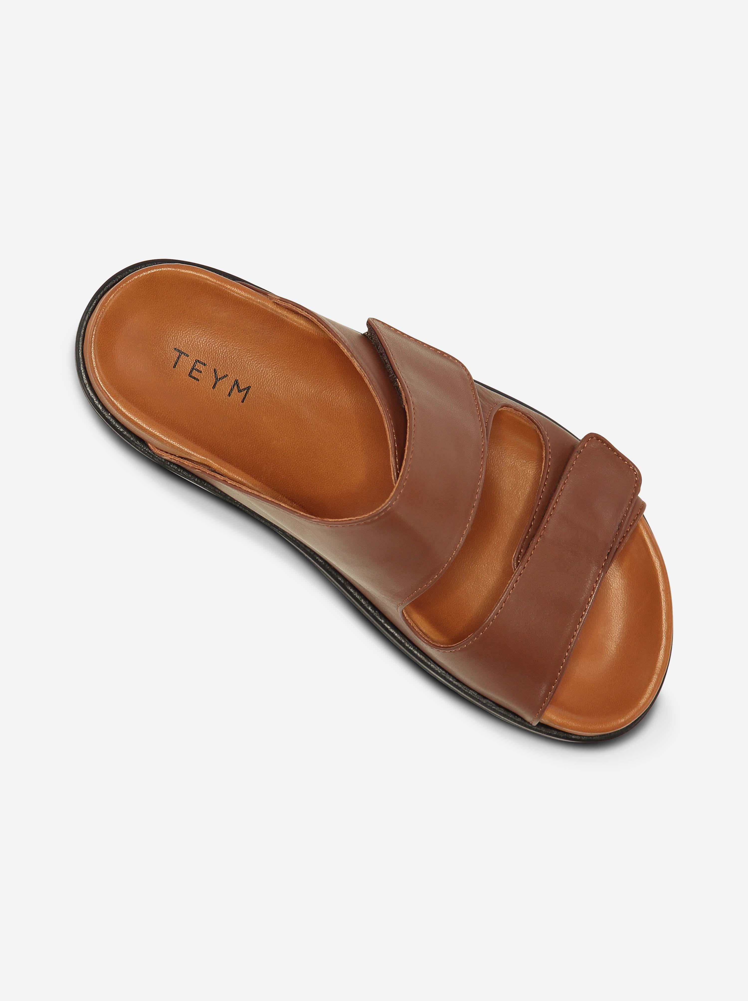 Teym - The Sandal - Brown - 7