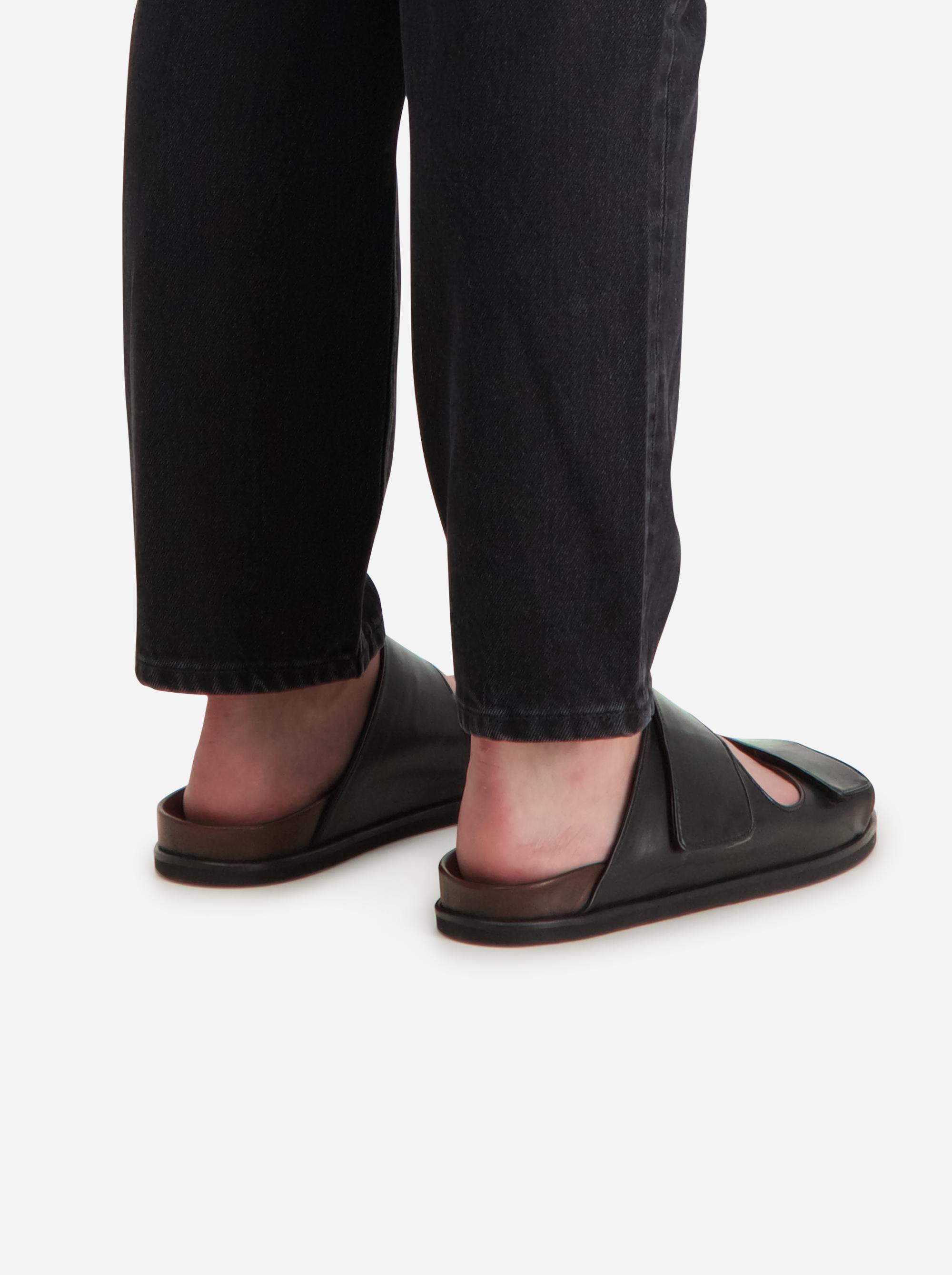 Teym - The Sandal - Men - Black - 1