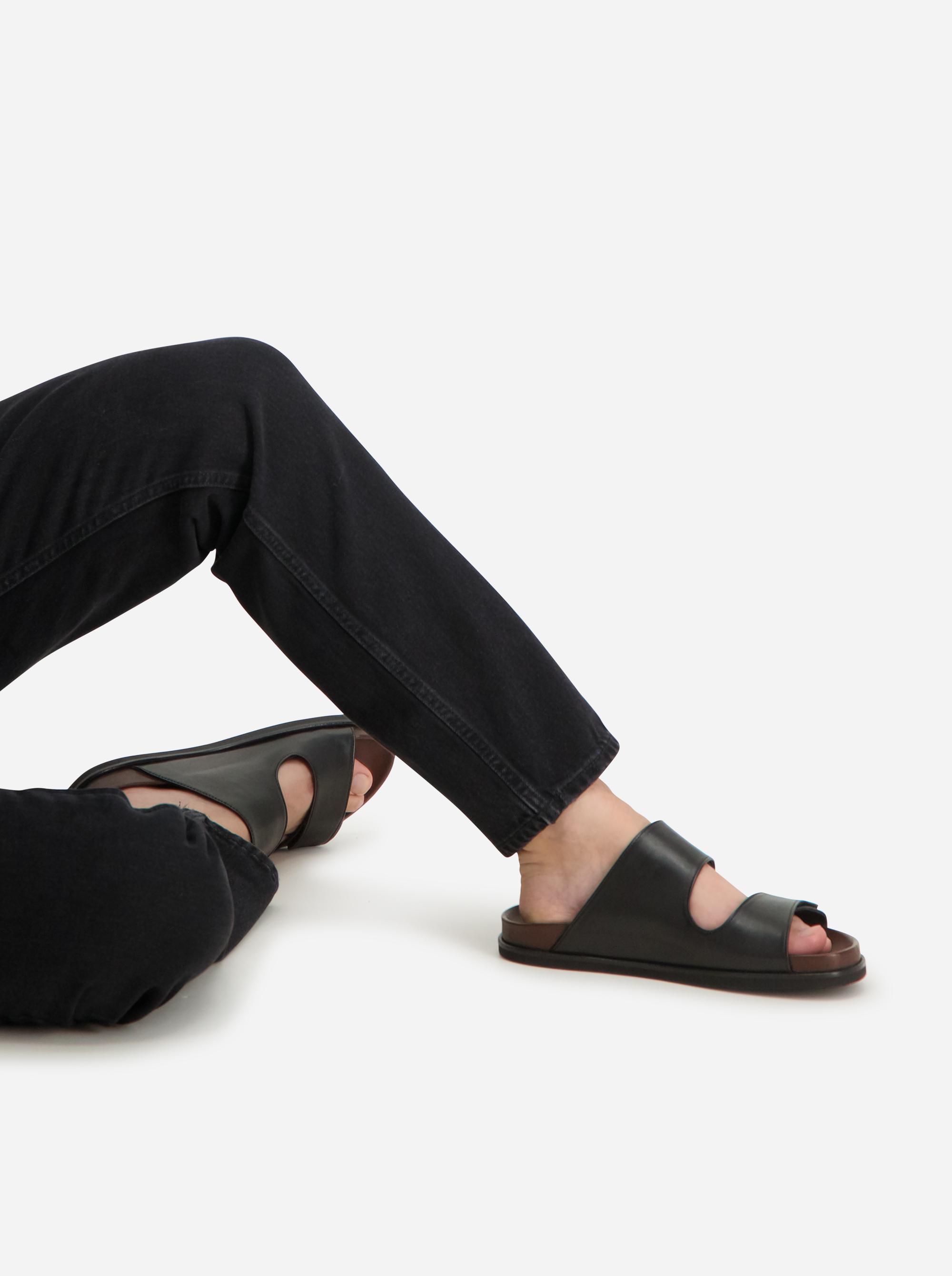 Teym - The Sandal - Men - Black - 2