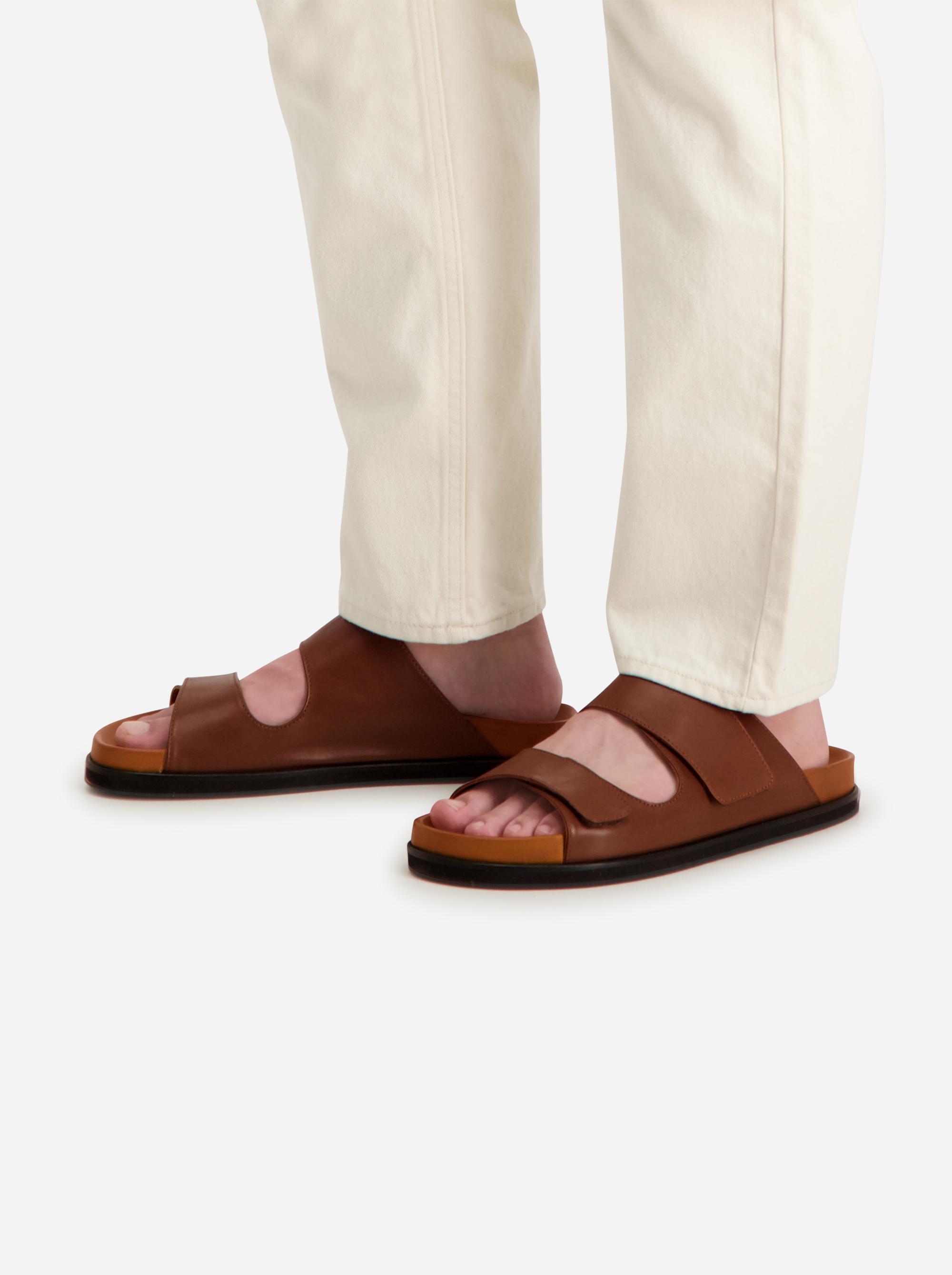 Teym - The Sandal - Men - Brown - 1