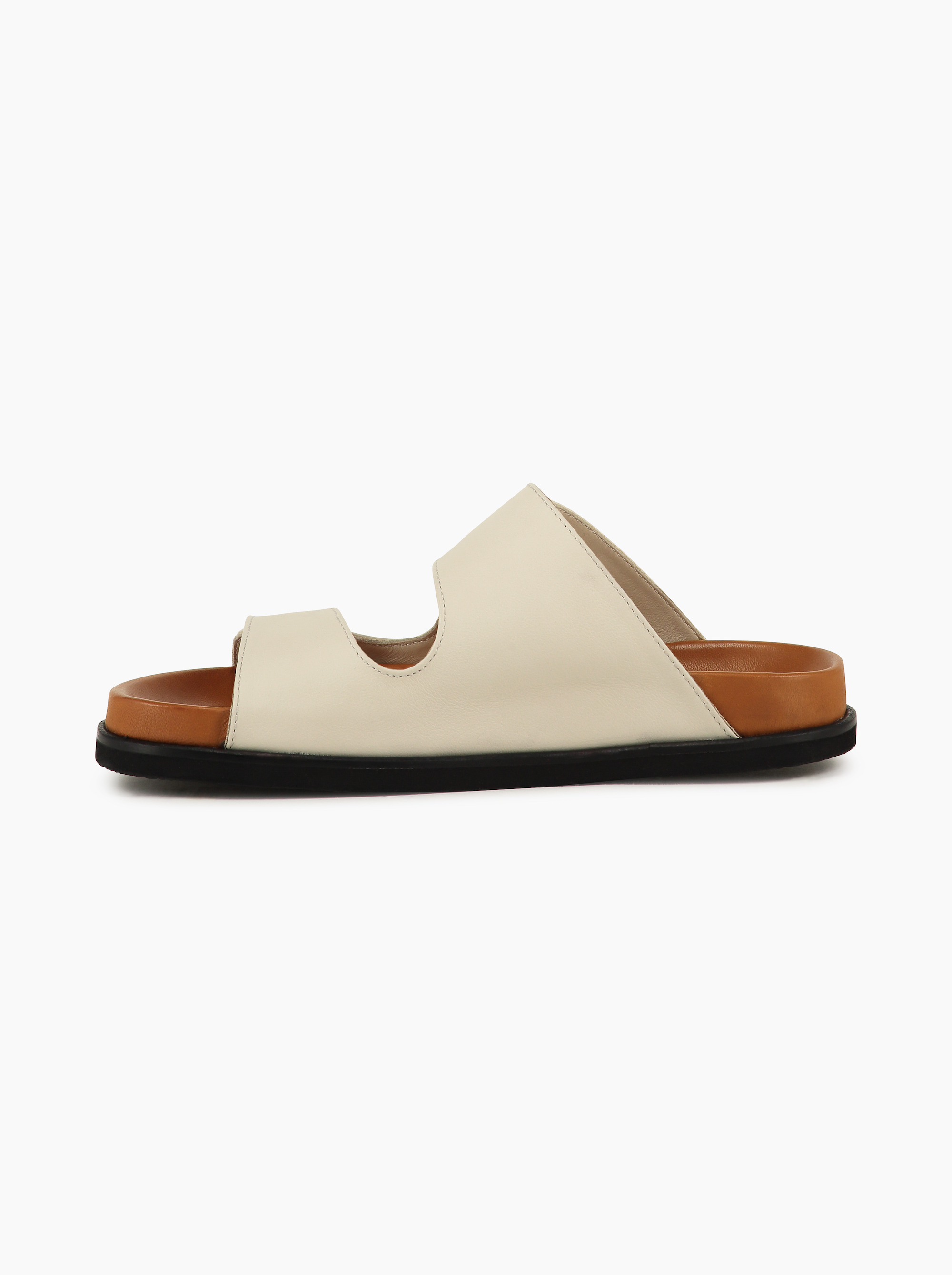 Teym - The Sandal - White - 2b