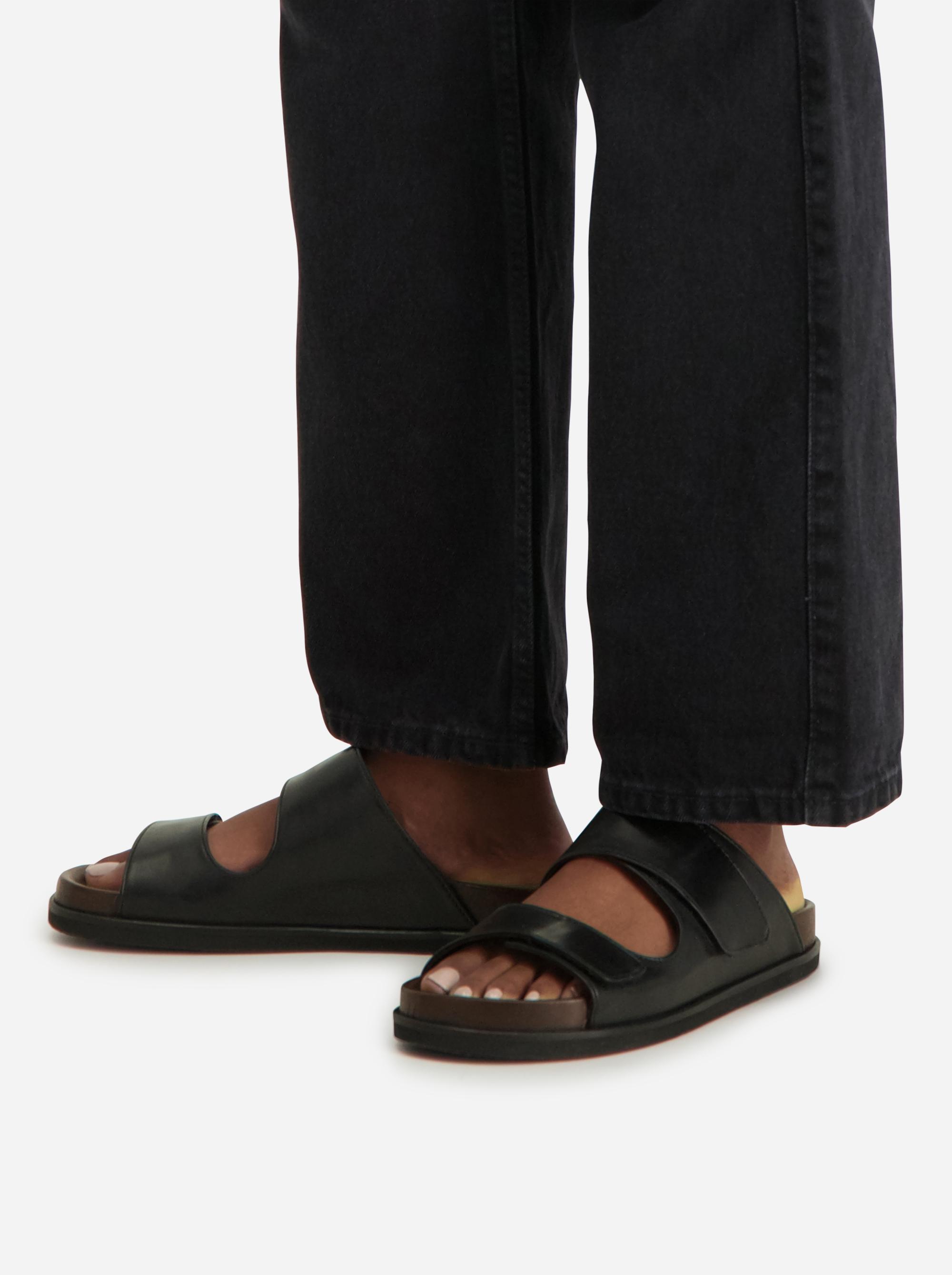 Teym - The Sandal - Women - Black - 1