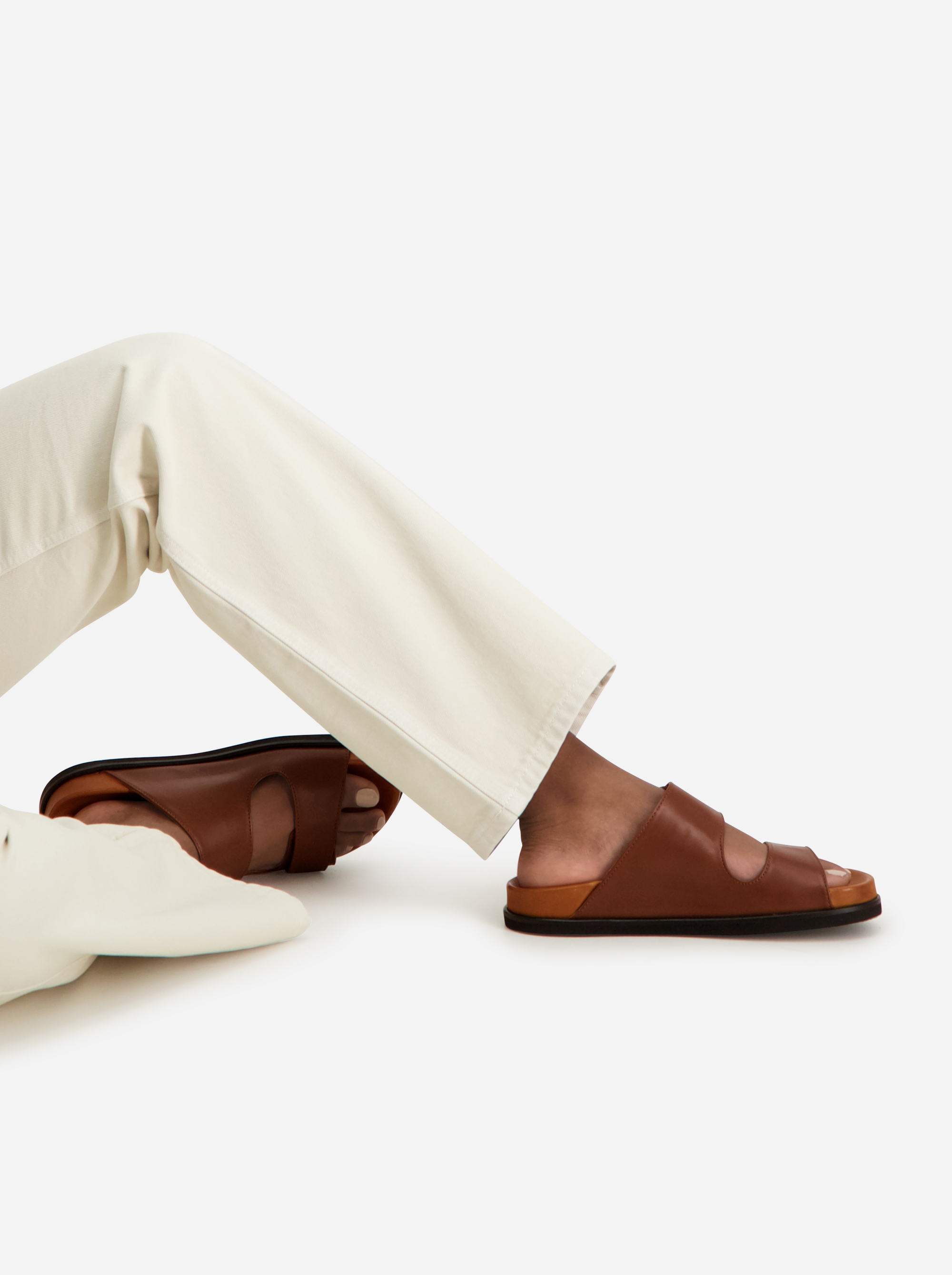 Teym - The Sandal - Women - Brown - 1