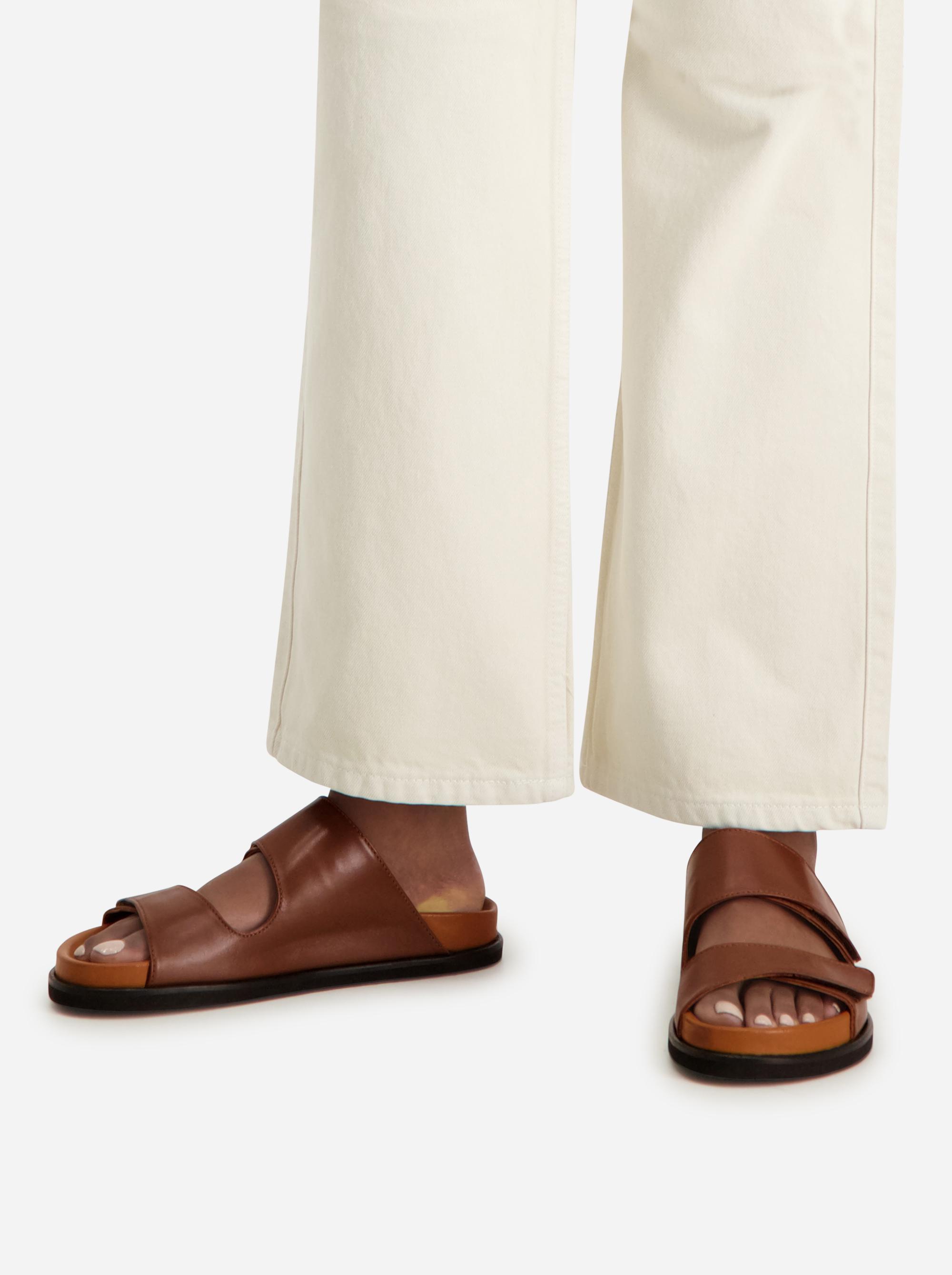Teym - The Sandal - Women - Brown - 2