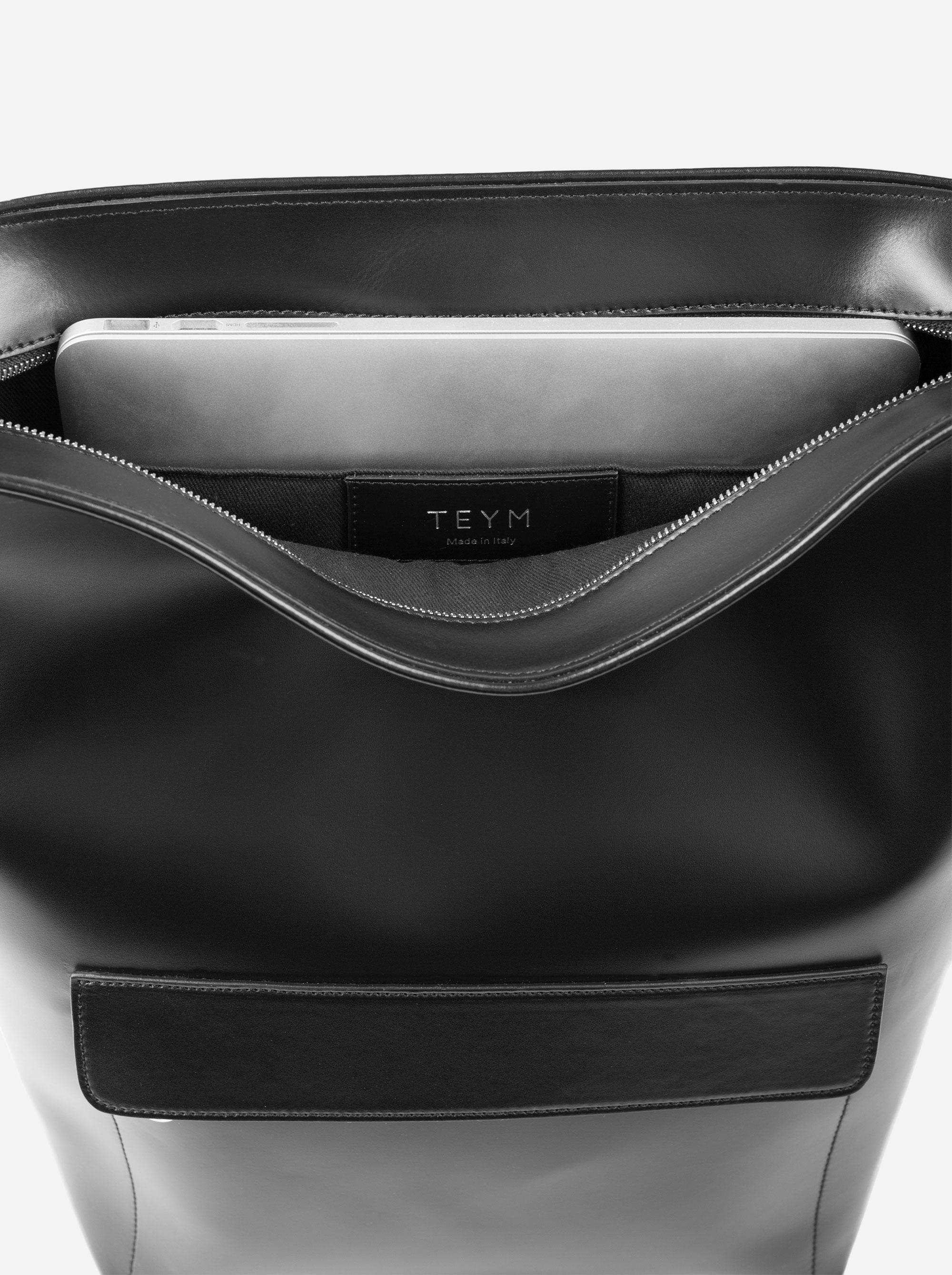 Teym - The Shoulder Bag - Black - 3