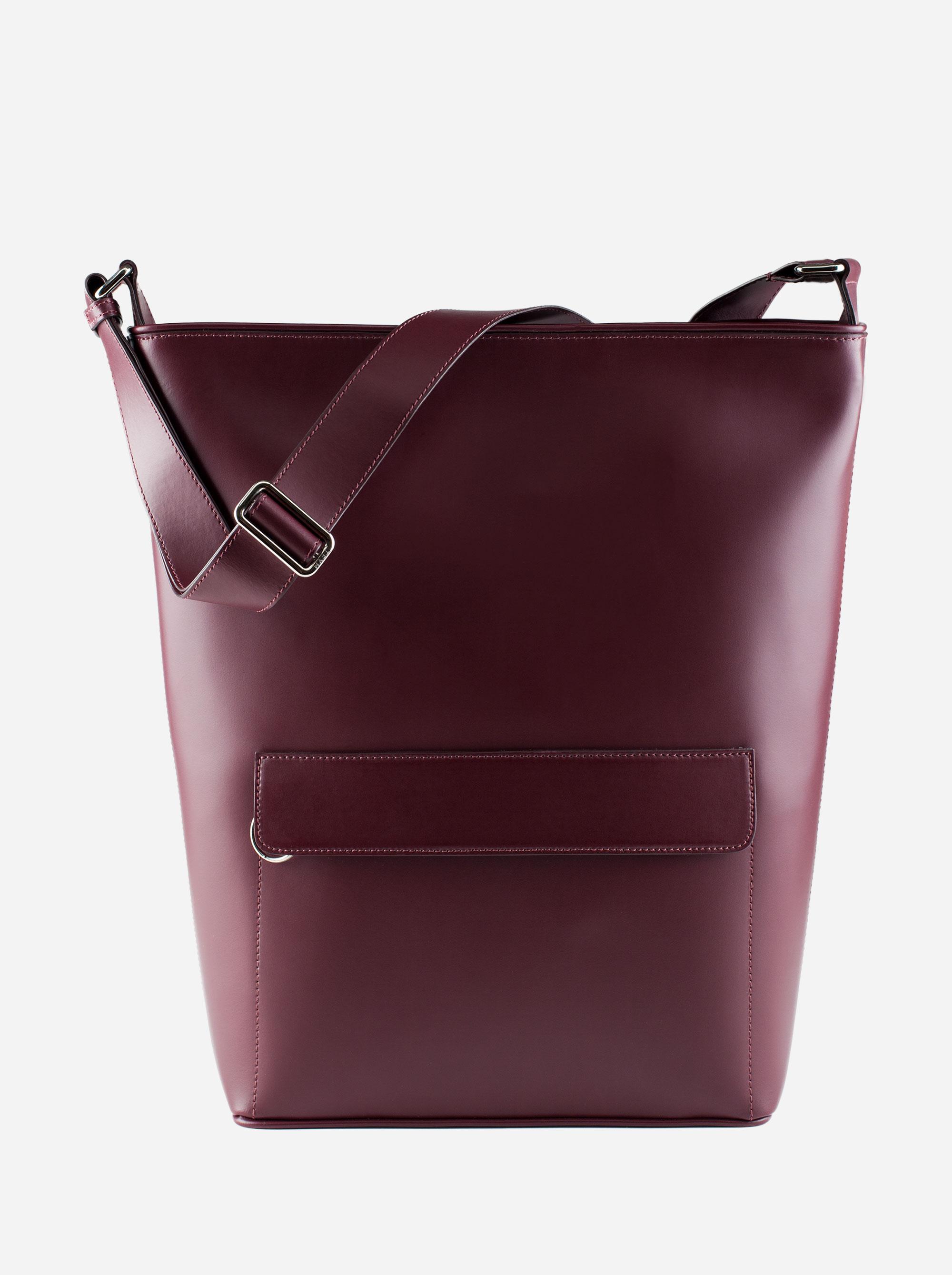 Teym - The Shoulder Bag - Burgundy - 1