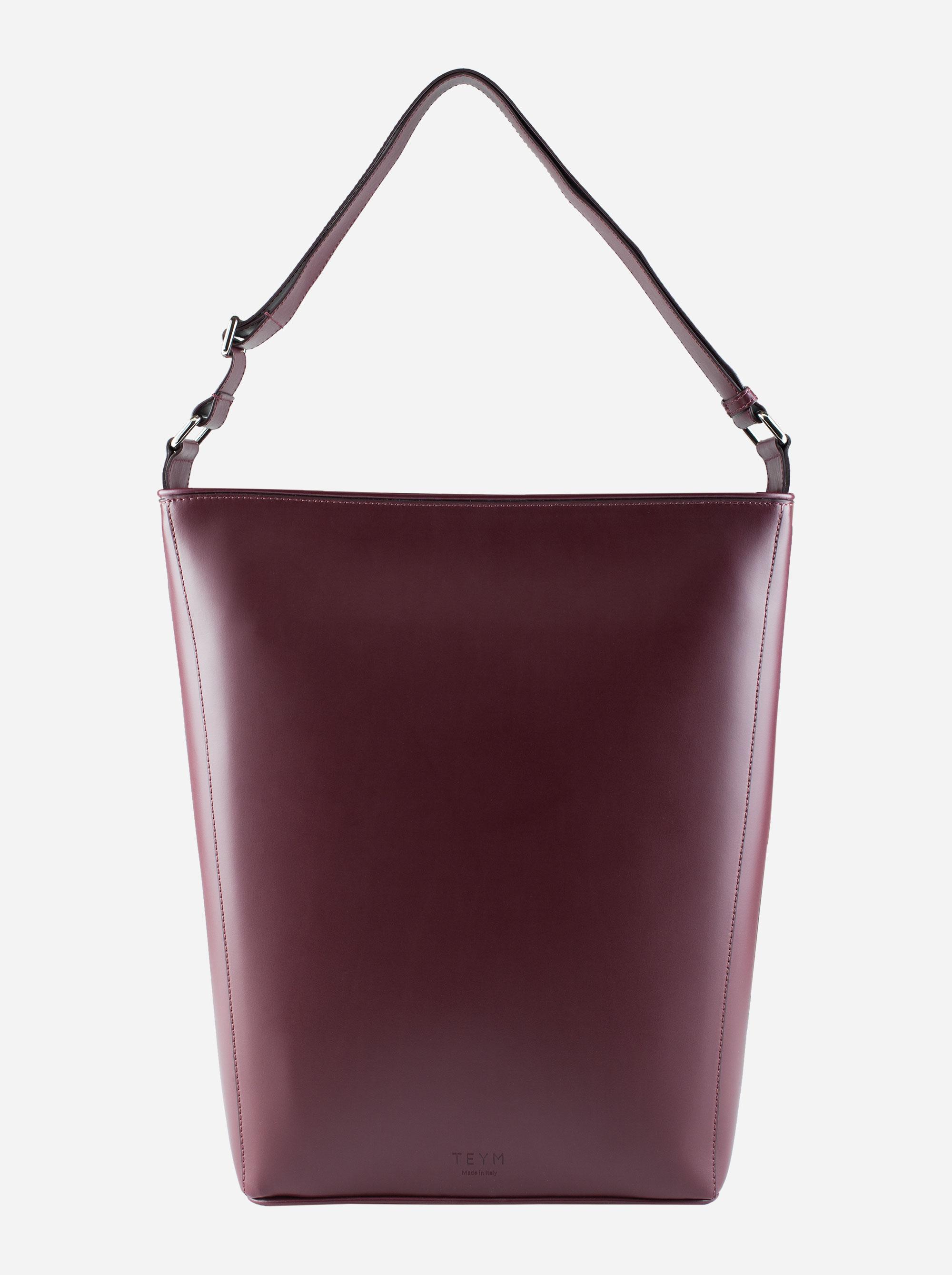 Teym - The Shoulder Bag - Burgundy - 4
