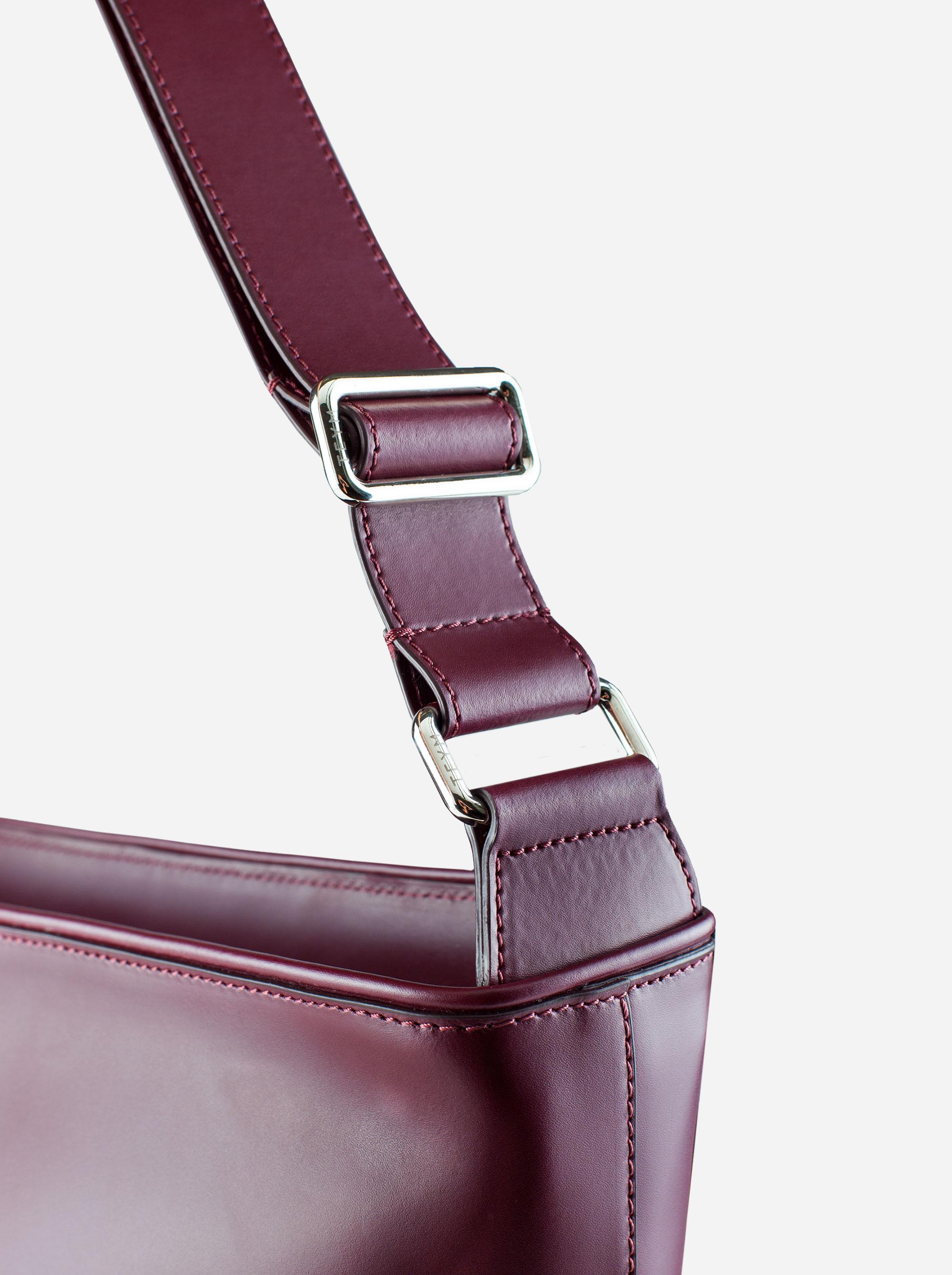 Teym - The Shoulder Bag - Burgundy - 5