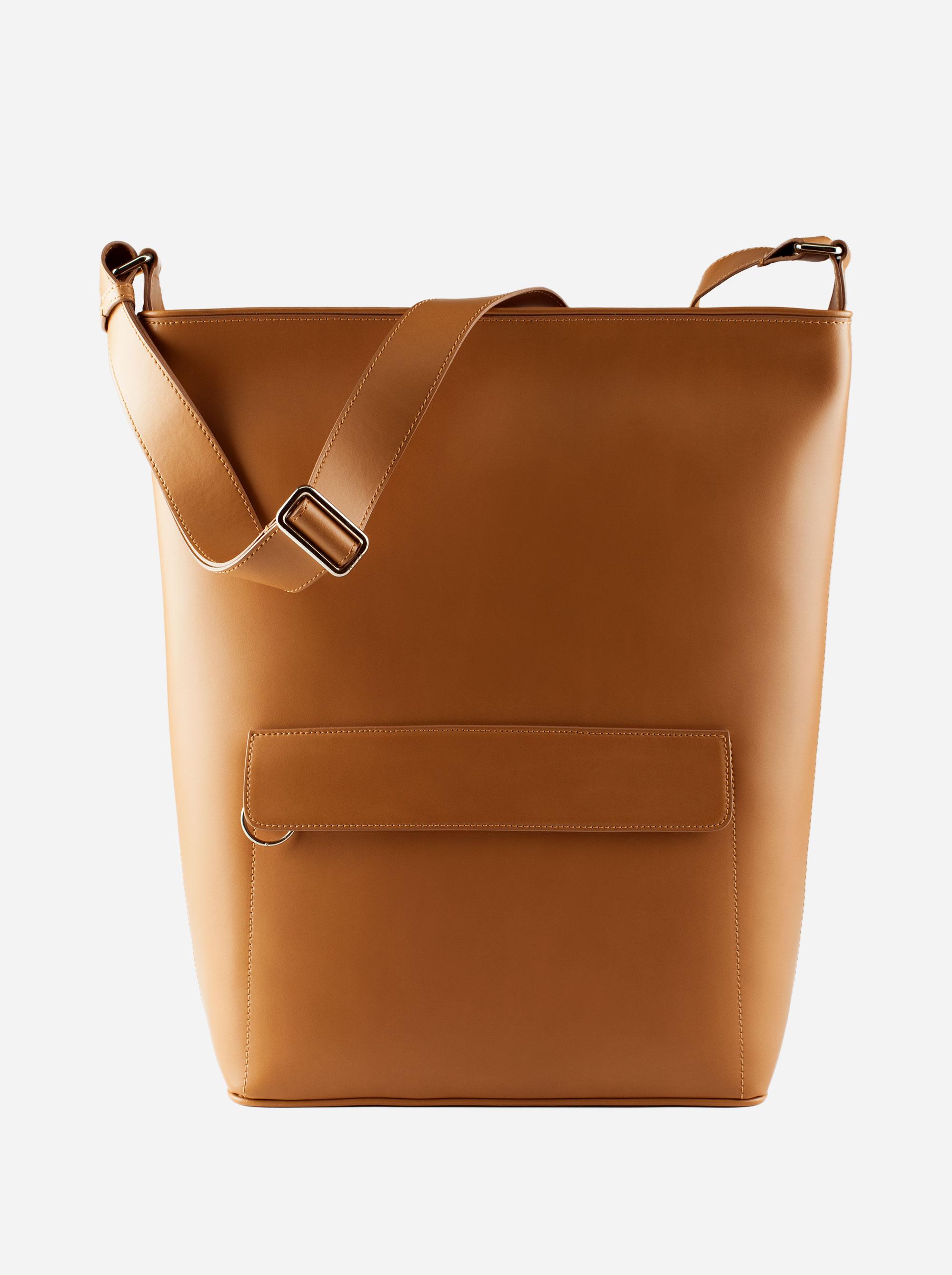 Teym - The Shoulder Bag - Camel - 2