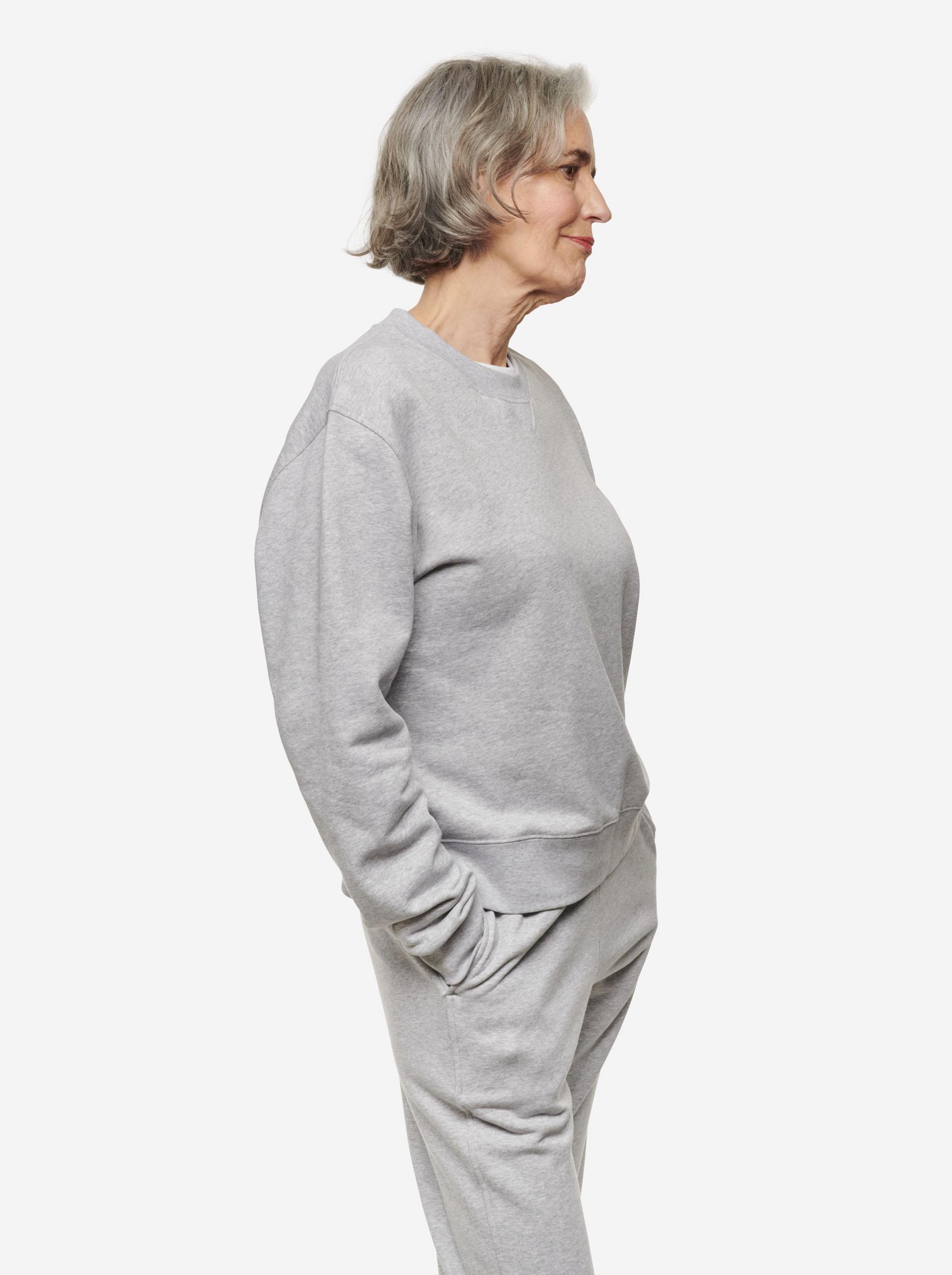 Teym - The Sweatshirt - Women - Grey - 2