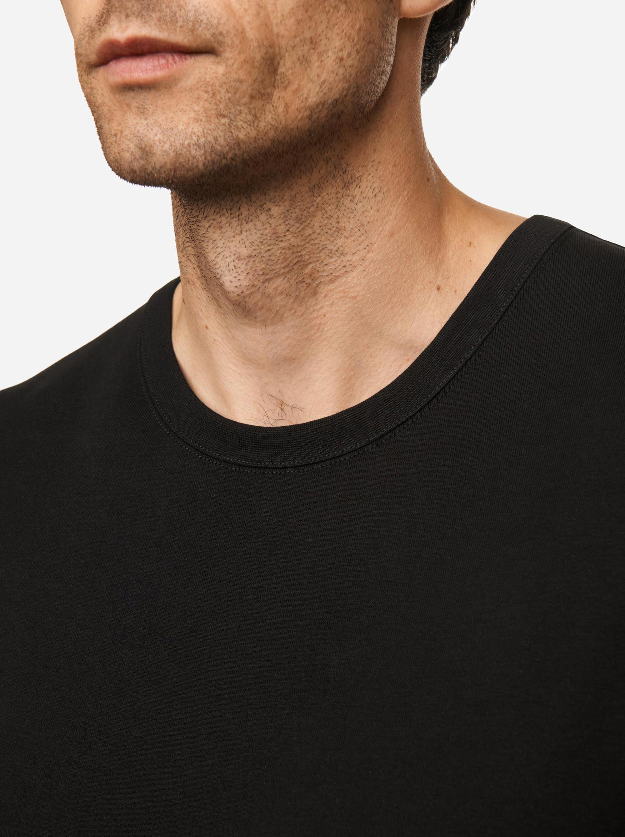 Teym - The-T-Shirt - Longsleeve - Men - Black - 3