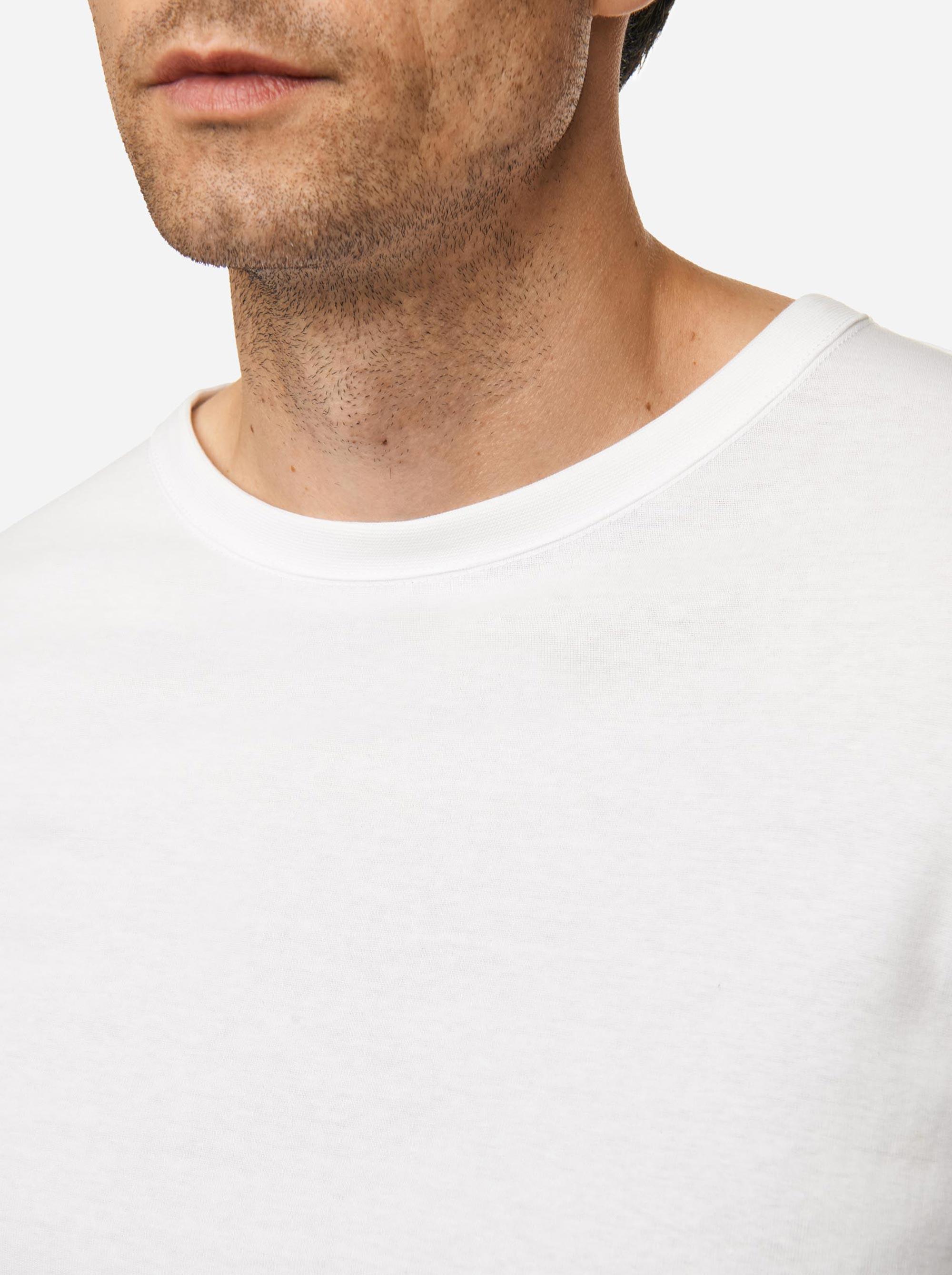 Teym - The-T-Shirt - Longsleeve - Men - White - 1