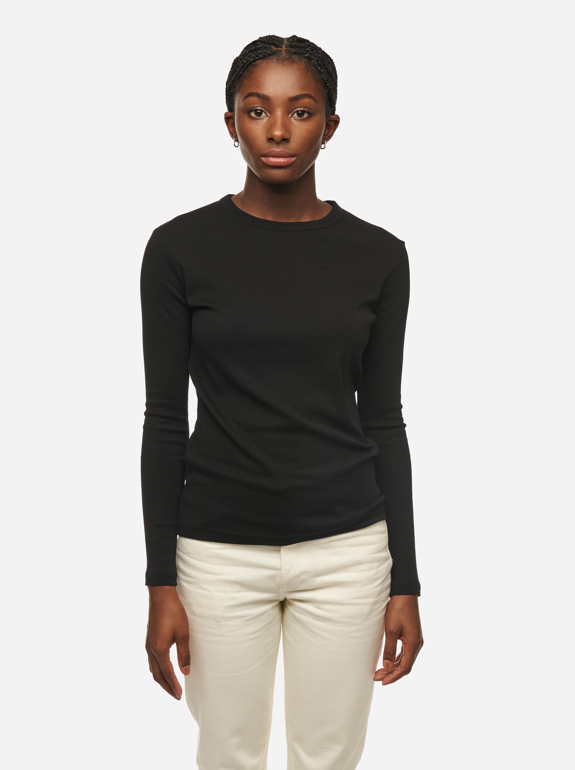 Teym - The-T-Shirt - Longsleeve - Women - Black - 3