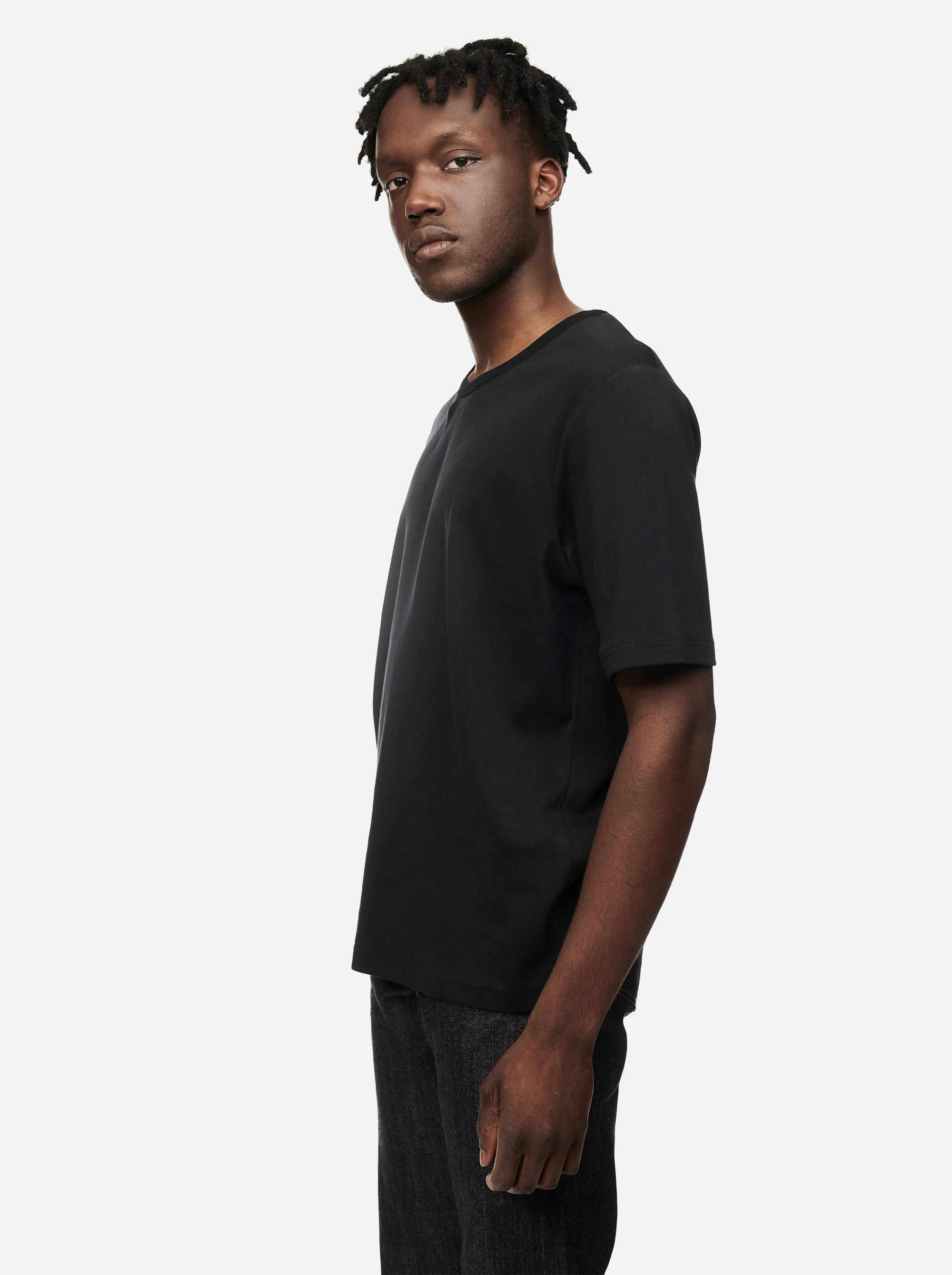 Teym - The T-Shirt - Men - Black - 3