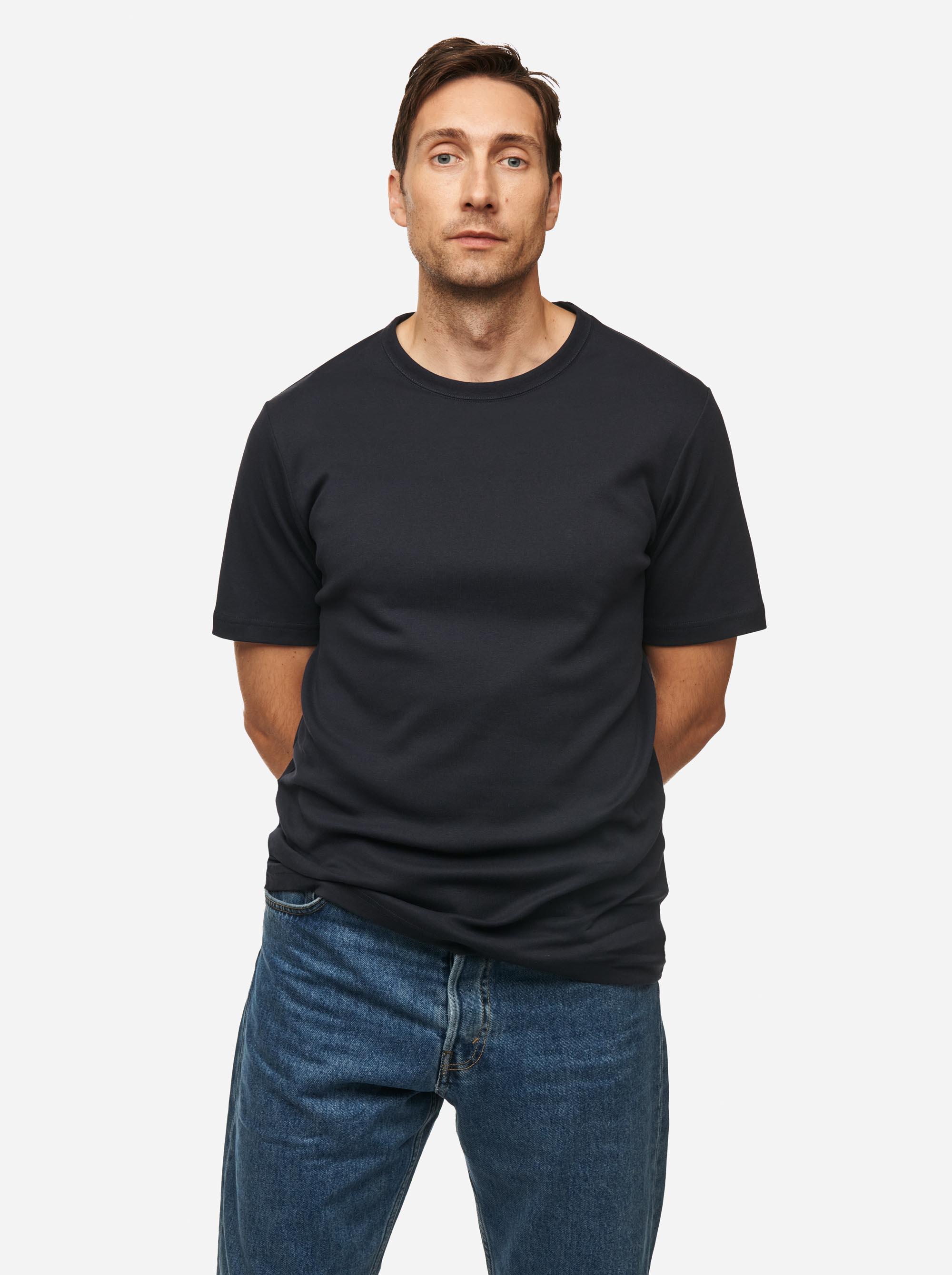 Teym - The T-Shirt - Men - Blue - 1