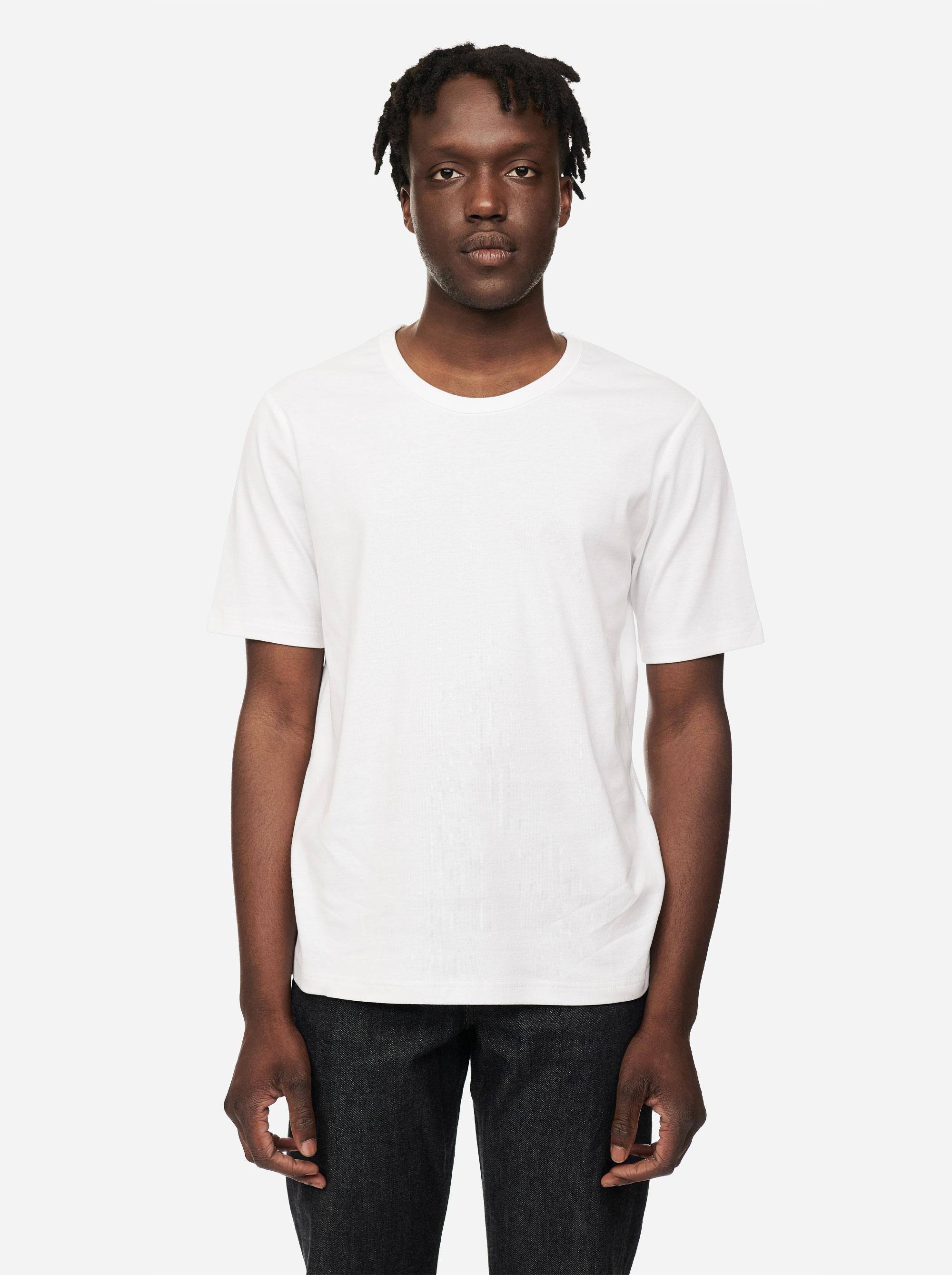 Teym - The T-Shirt - Men - White - 3