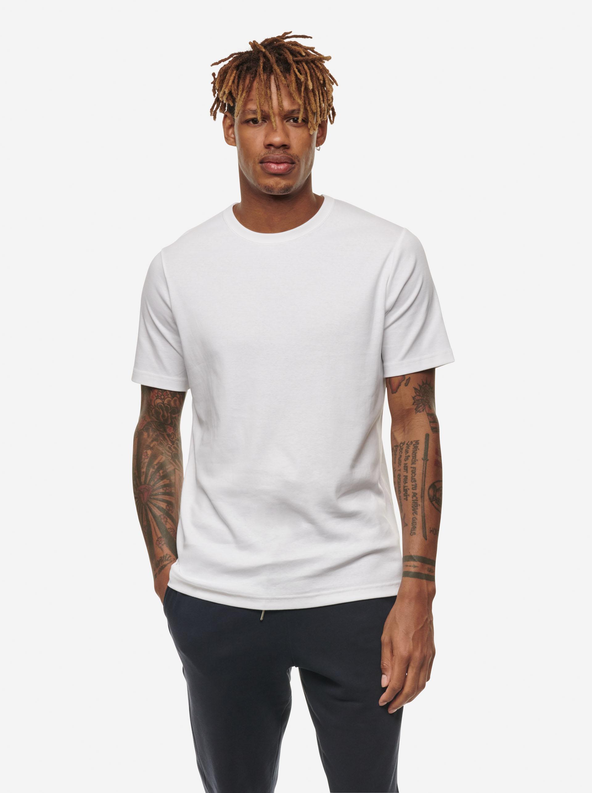 Teym - The-T-Shirt - Men - White - 6