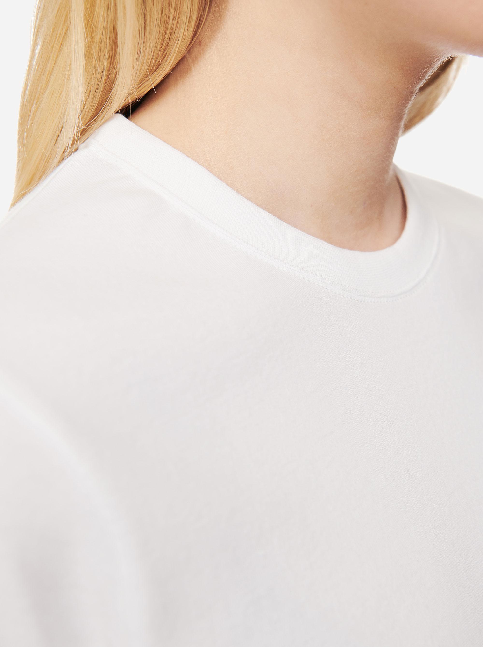 Teym - The T-Shirt - Women - White - 3