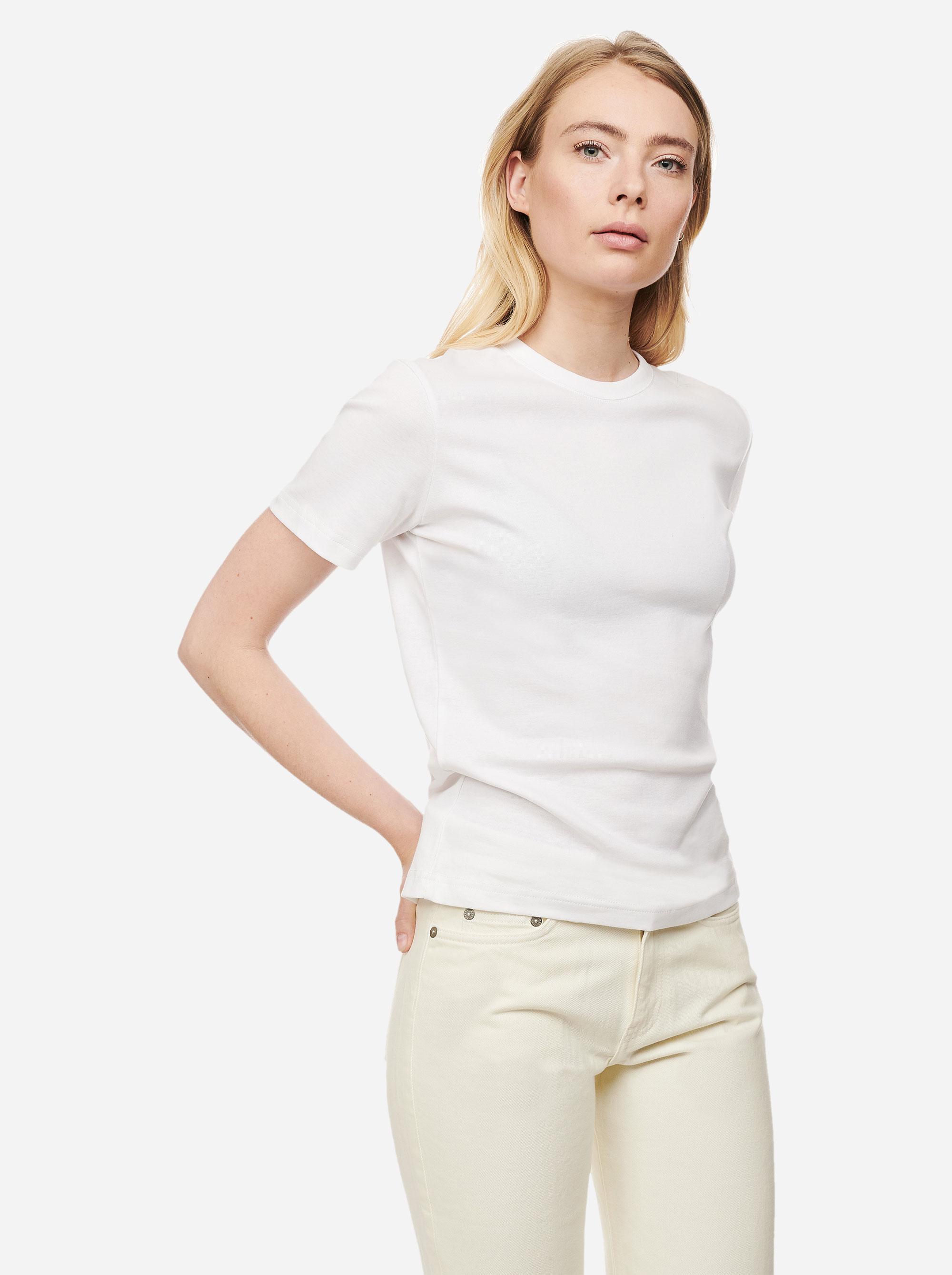 Teym - The T-Shirt - Women - White - 4