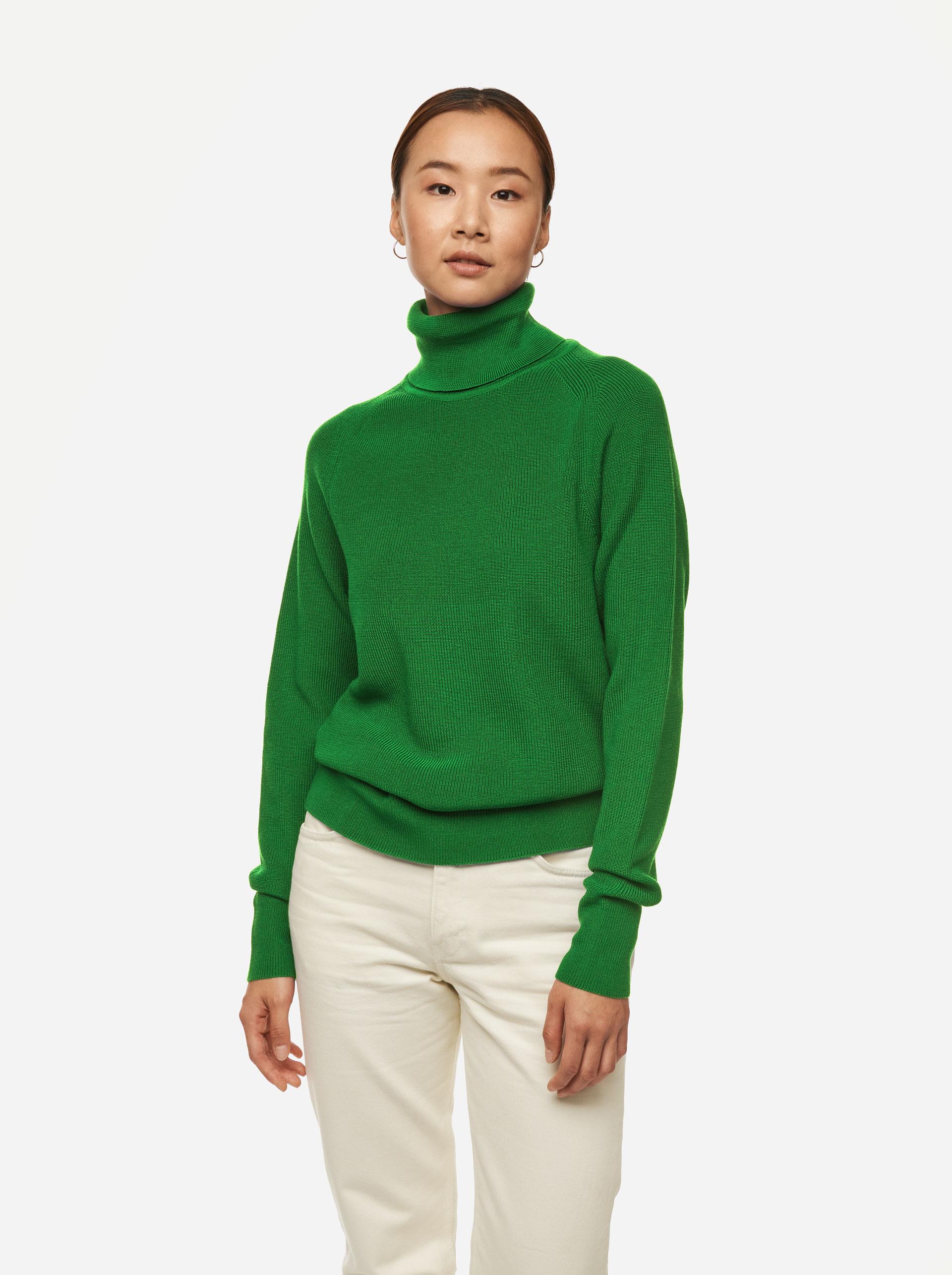 Teym - Turtleneck - The Merino Sweater - Men - Bright Green - 2