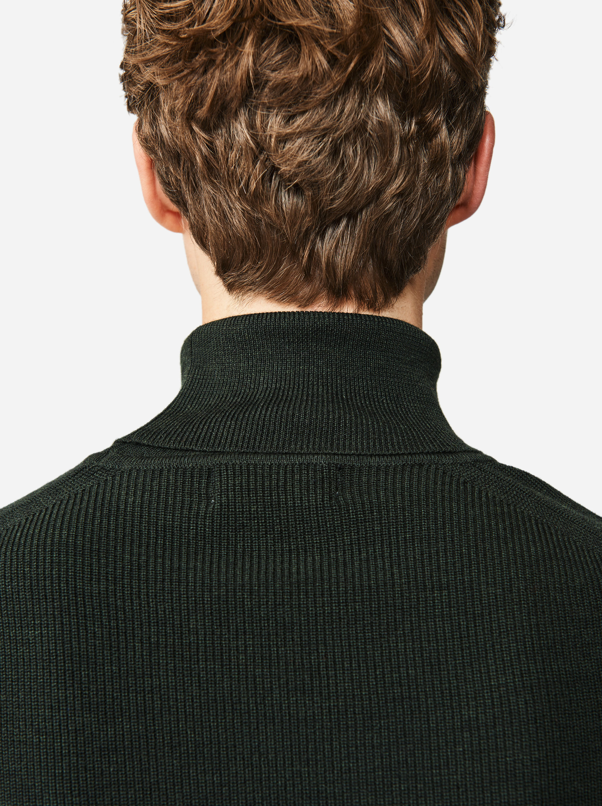Teym - Turtleneck - The Merino Sweater - Men - Green - 1