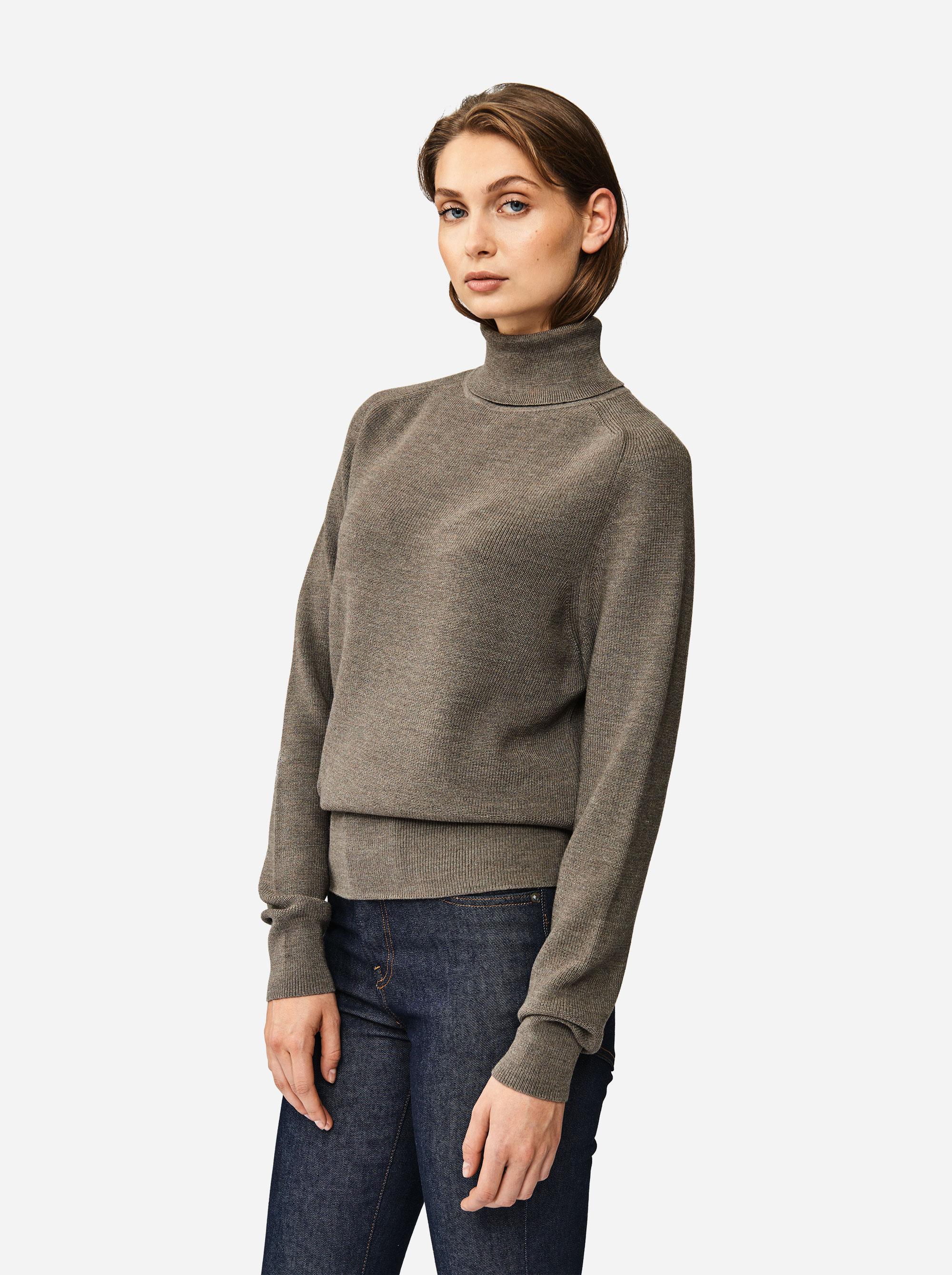 Teym - Turtleneck - The Merino Sweater - Men - Grey - 2