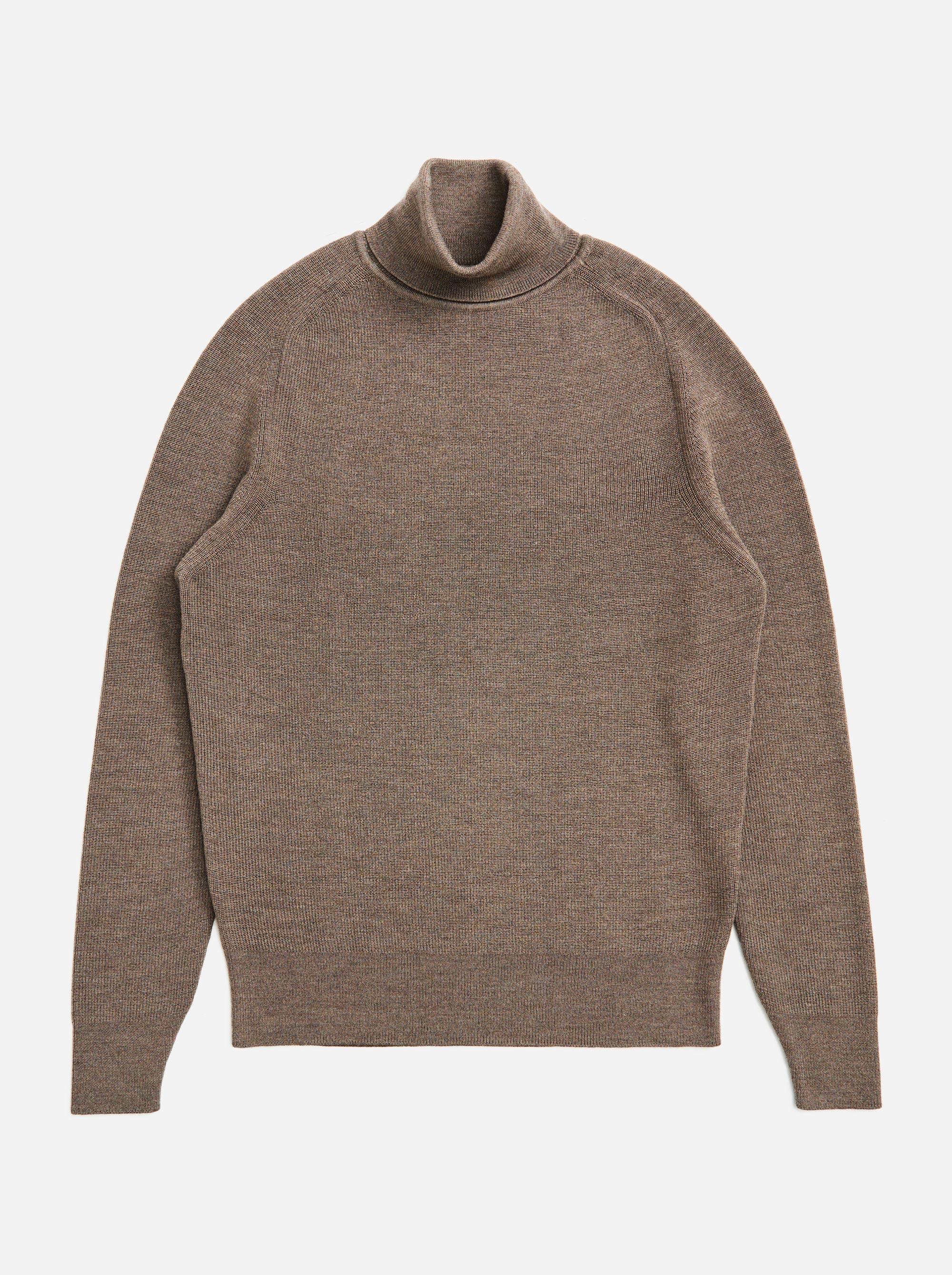 Teym - Turtleneck - The Merino Sweater - Men - Grey - 5