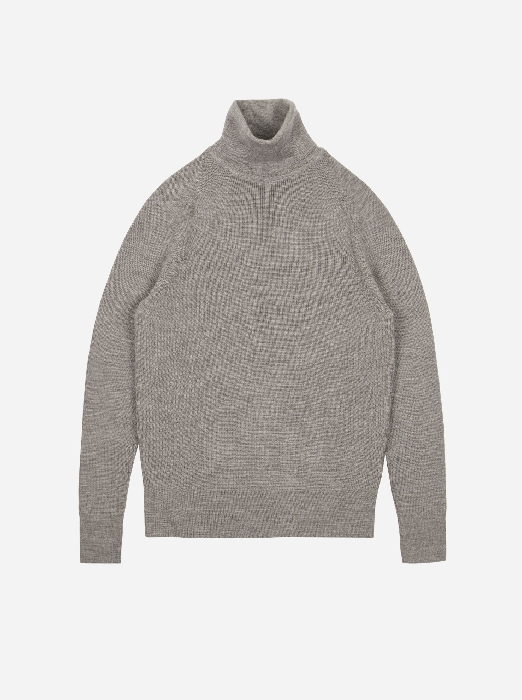 Teym - Turtleneck - The Merino Sweater - Men - Grey - 6