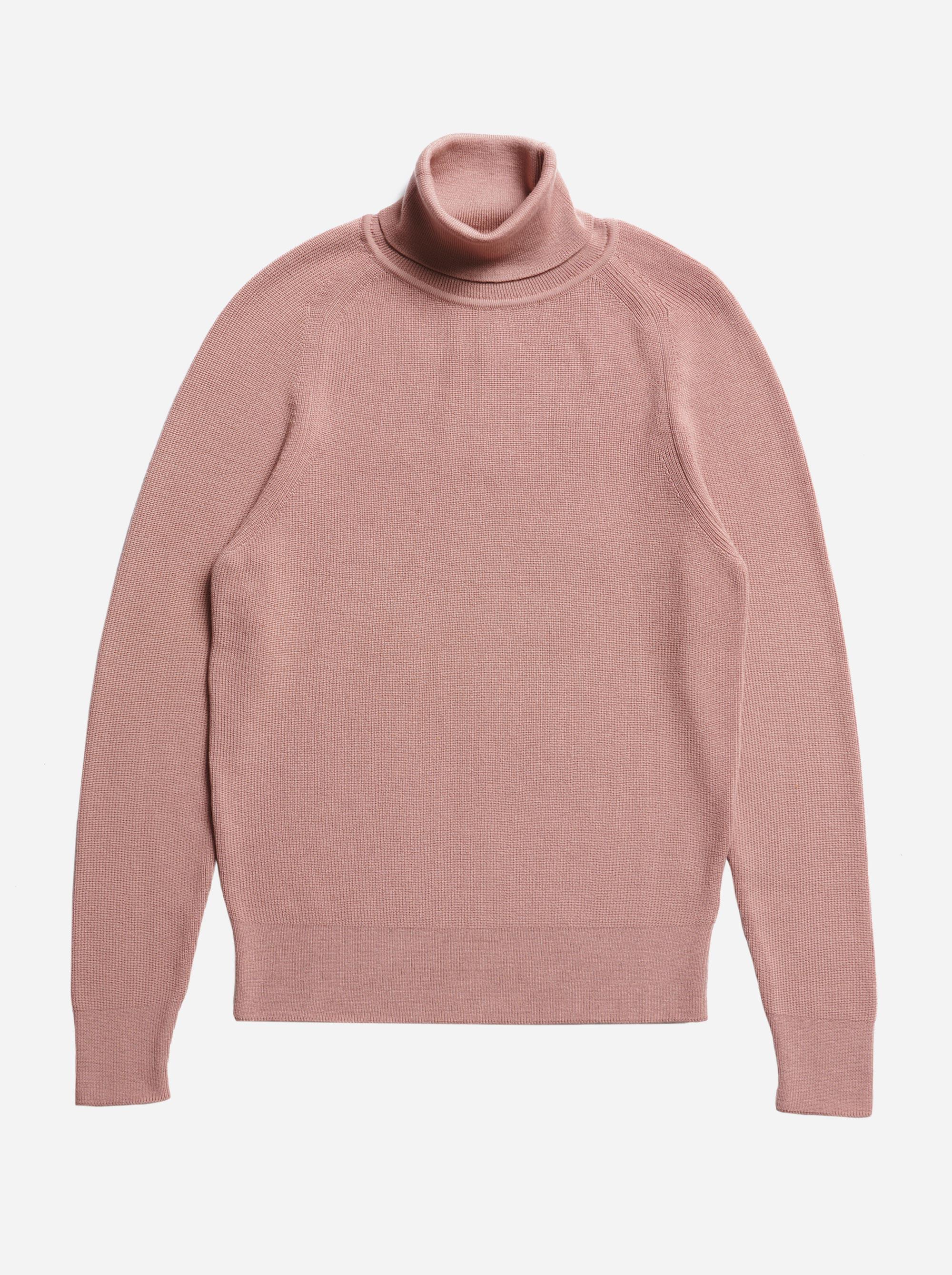 Teym - Turtleneck - The Merino Sweater - Men - Pink - 5