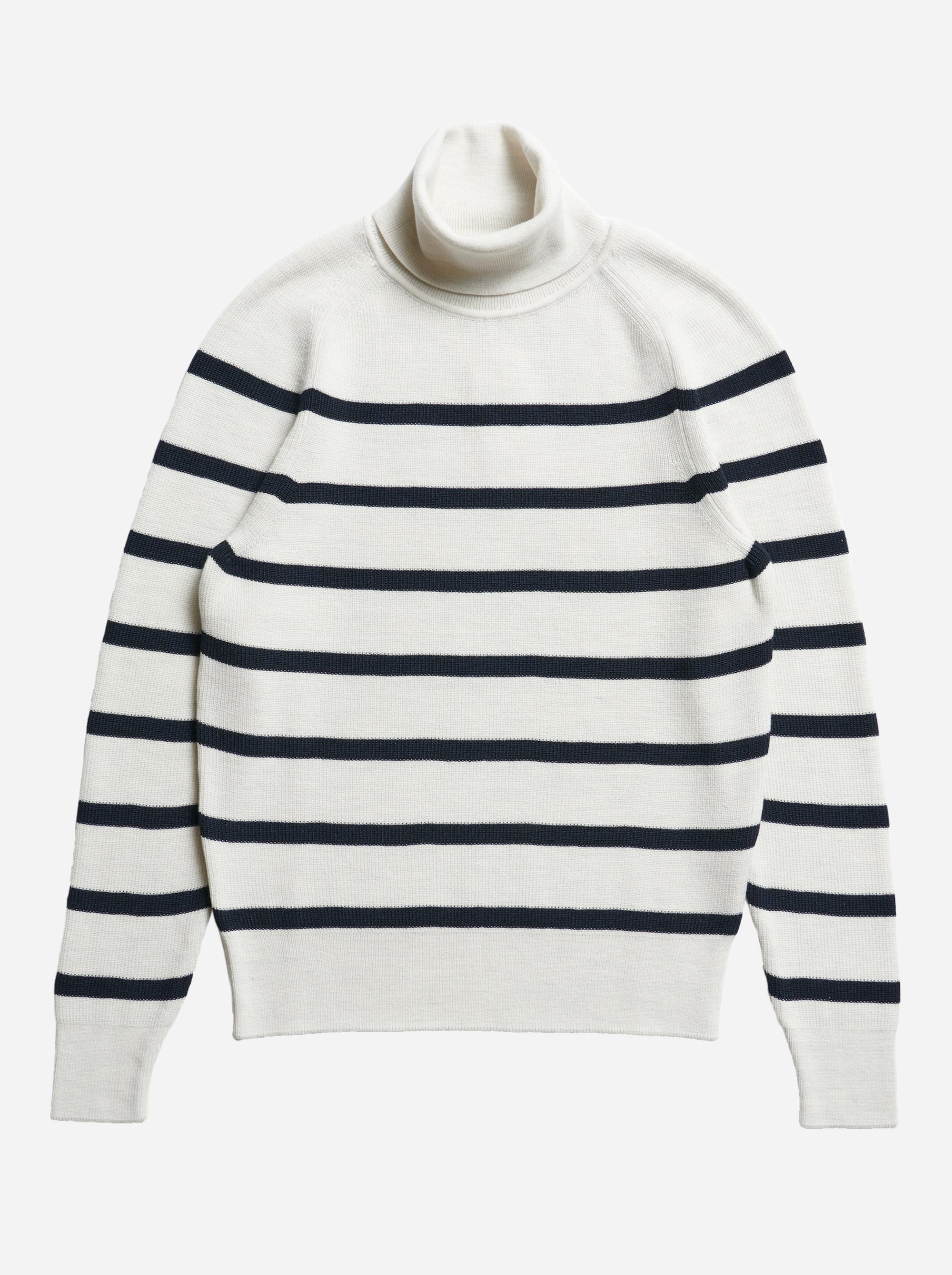 Teym - Turtleneck - The Merino Sweater - Men - Striped - 4