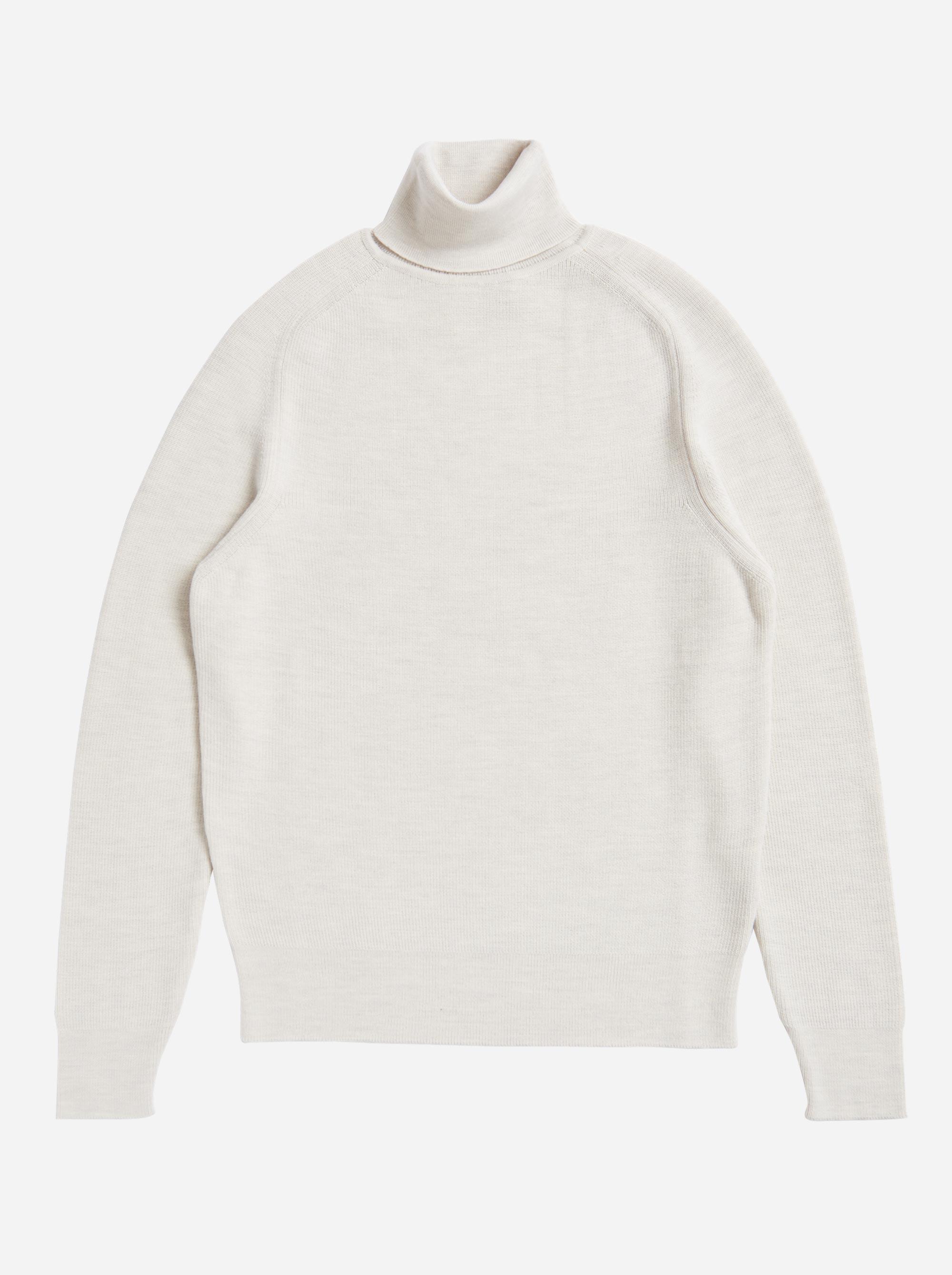 Teym - Turtleneck - The Merino Sweater - Men - White - 6