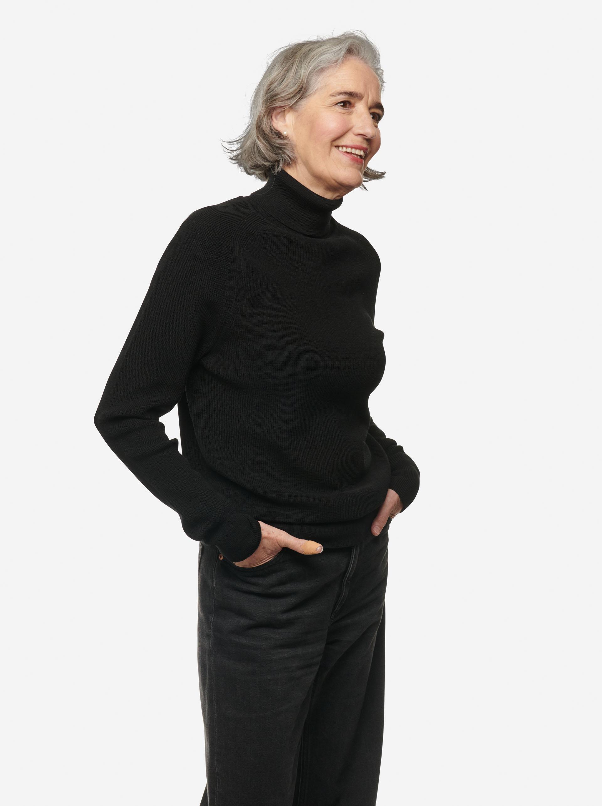 Teym - Turtleneck - The Merino Sweater - Women - Black - 6