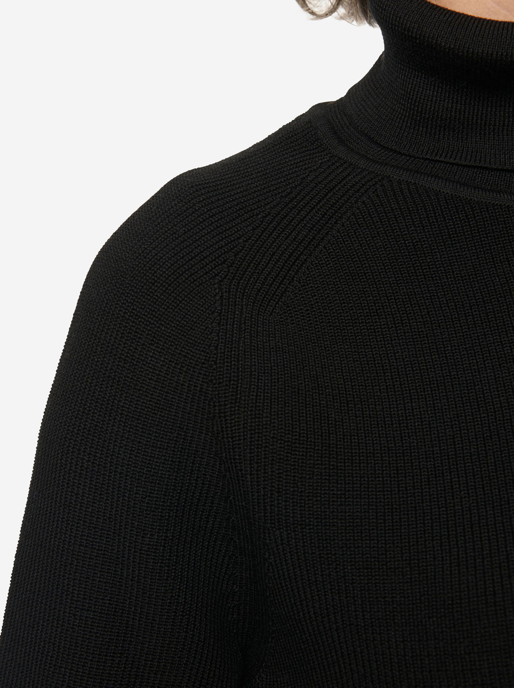 Teym - Turtleneck - The Merino Sweater - Women - Black - 7