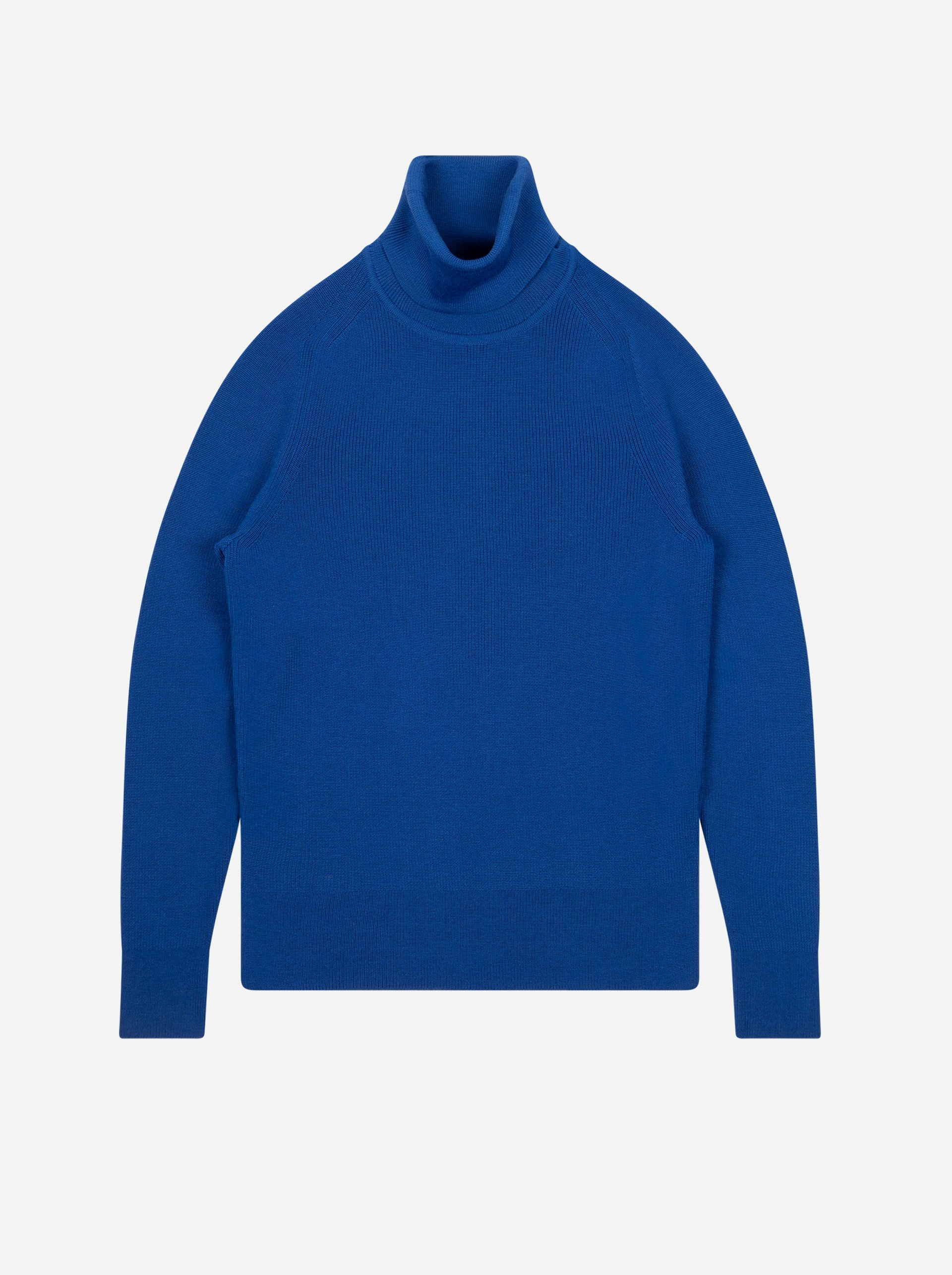 Teym - Turtleneck - The Merino Sweater - Women - Cobalt - 4