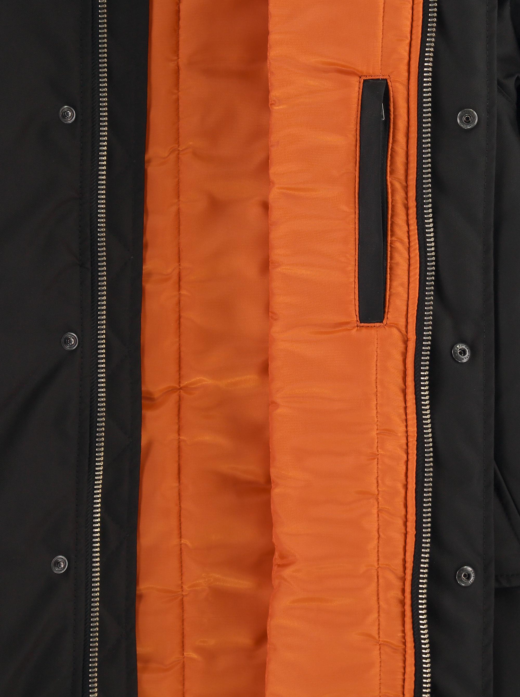 Teym_ParkaMatte_Black Orange_Men_detail4