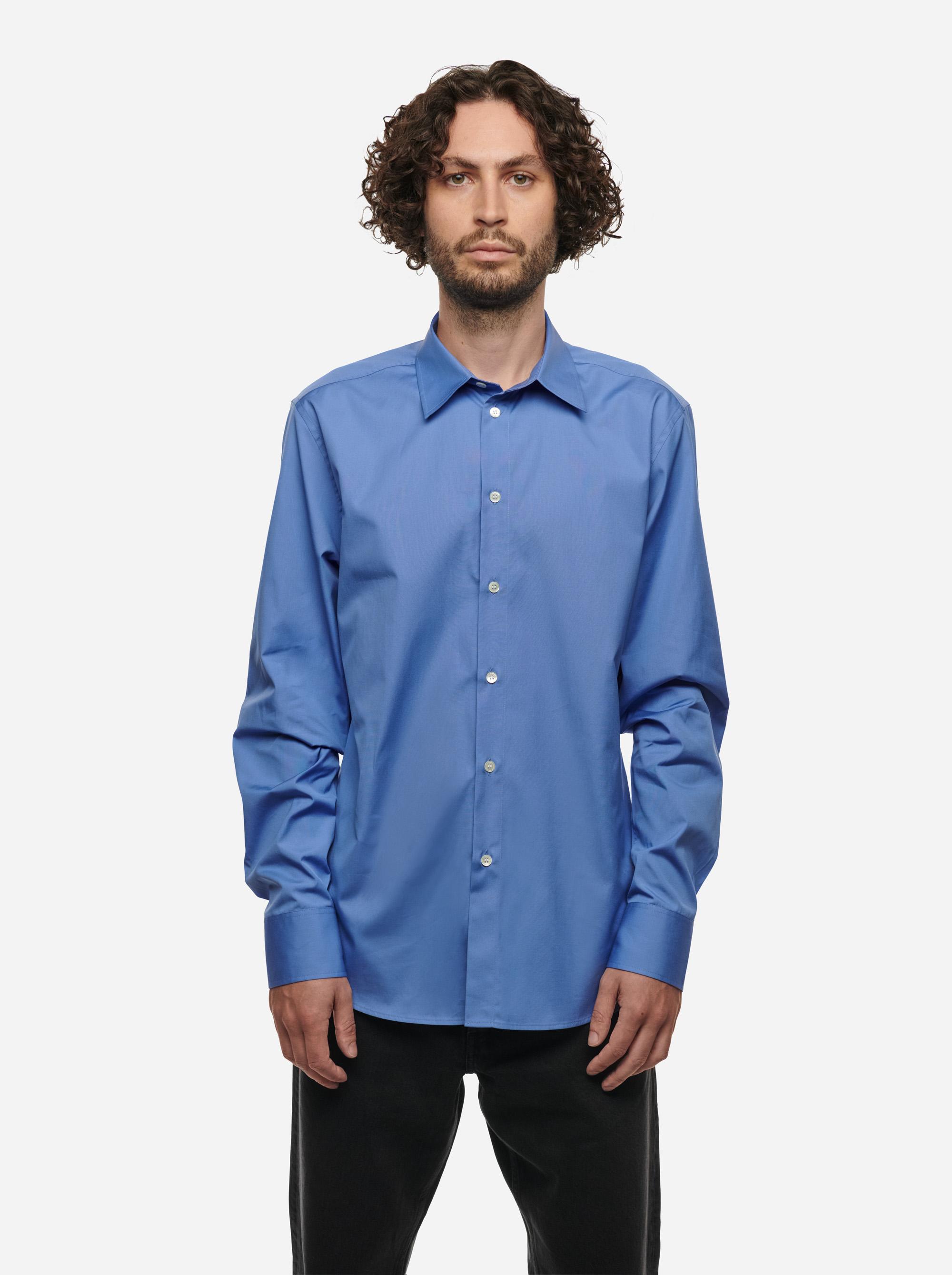 Teym - The Shirt - Men - Blue - 1